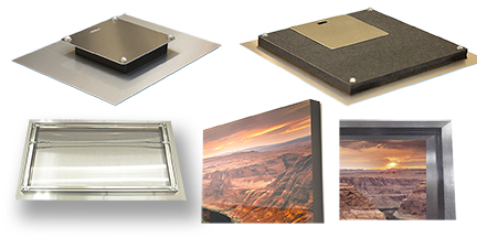 "EXPLORE  the various  FRAMES  and  FINISHES . Sizes range from 4""x 6"" up to 48"" x 72"". Custom Sizes Available."
