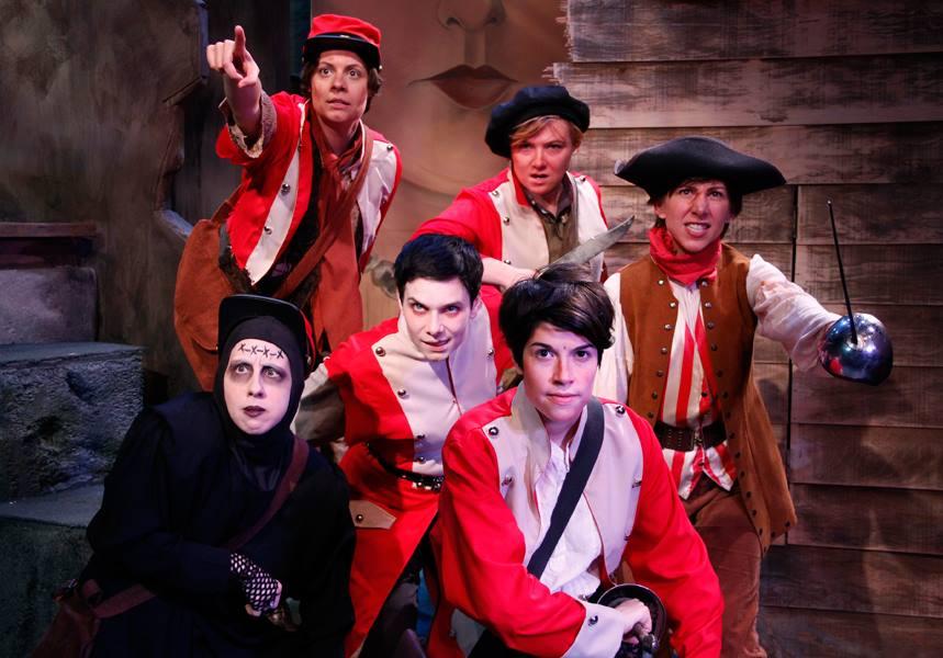 Monstrous Regiment, Lifeline Theatre, 2014.