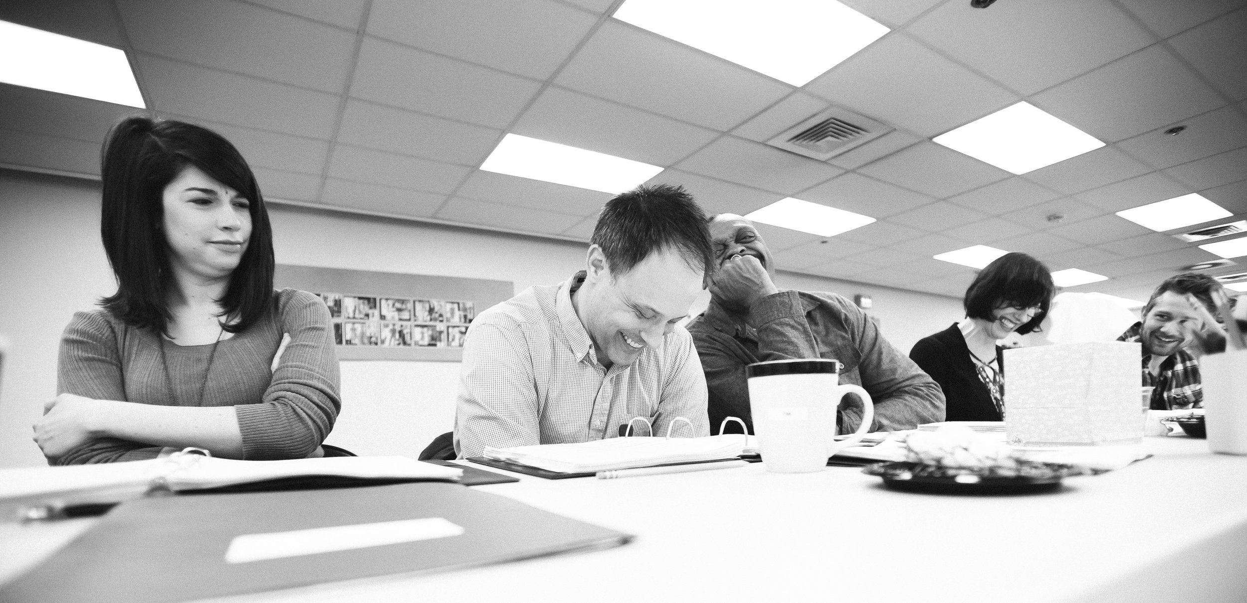 First Table Read of Harvey, Court Theatre.