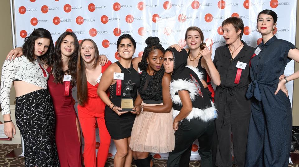 The Wolves Win for Best Ensemble!