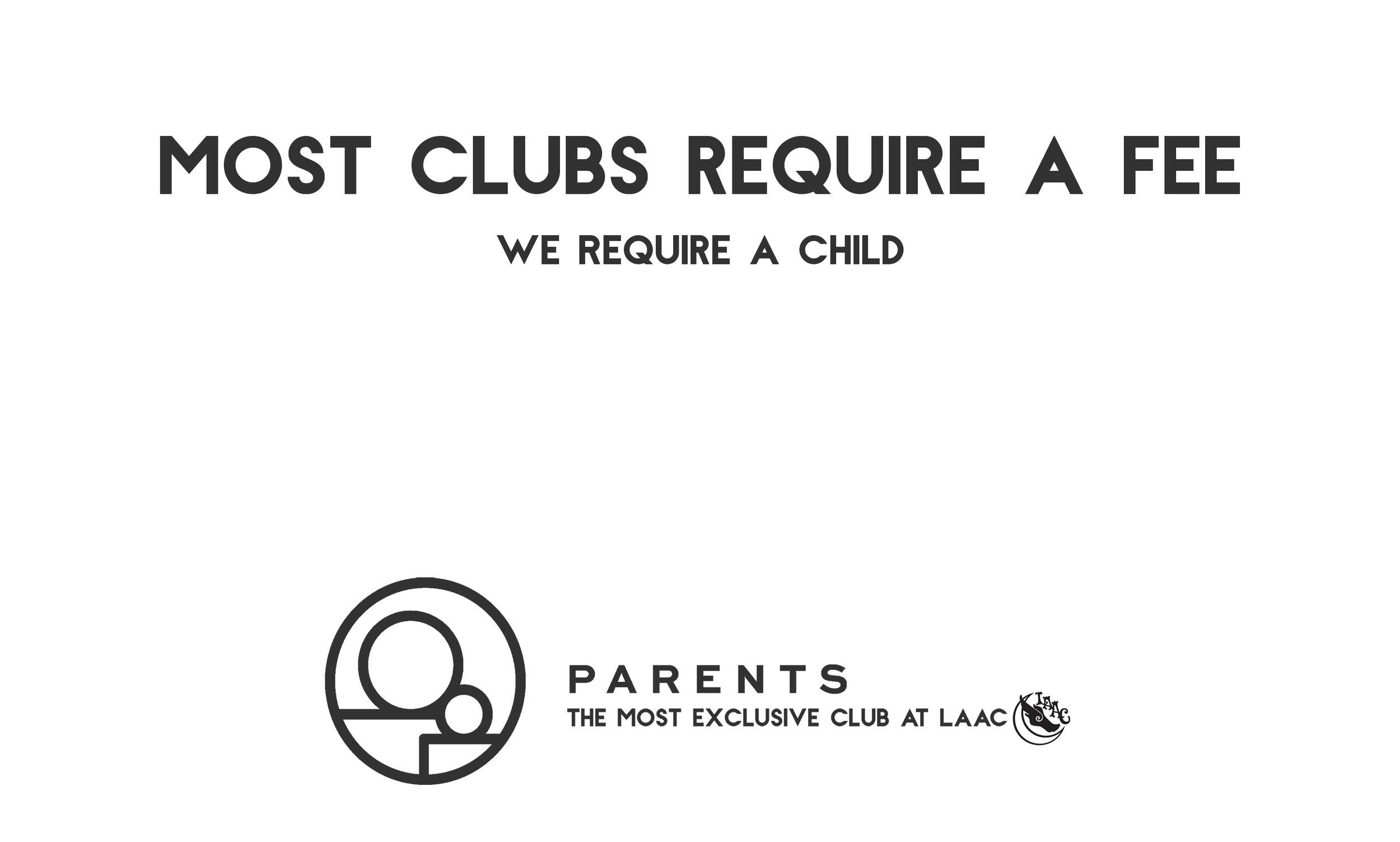 Flyer Copy - Los Angeles Athletic Club - Parents Club