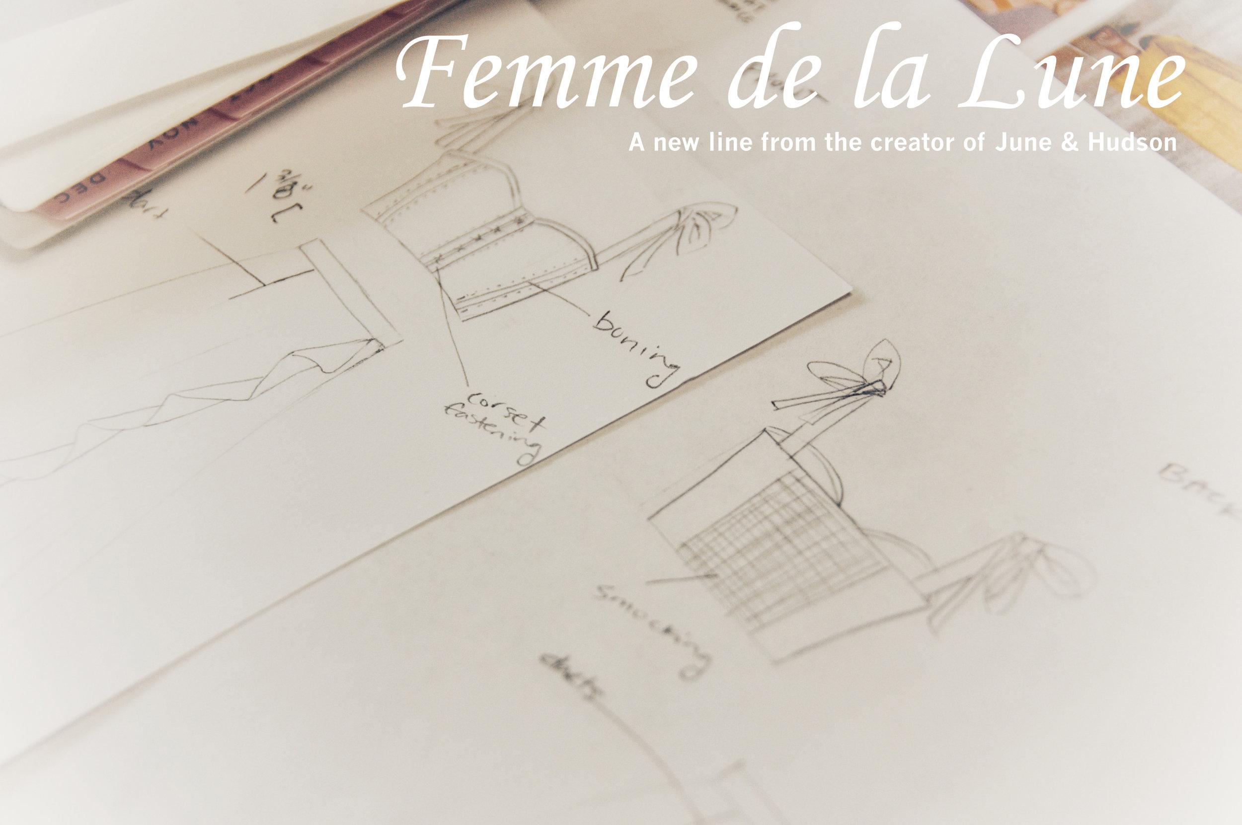 Concept - Femme de la Lune (sometimes simple copy is best)