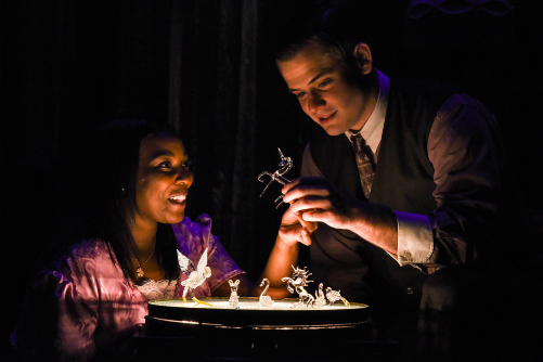 THE GLASS MENAGERIE dir. Christopher Scott (47th St. Theater)