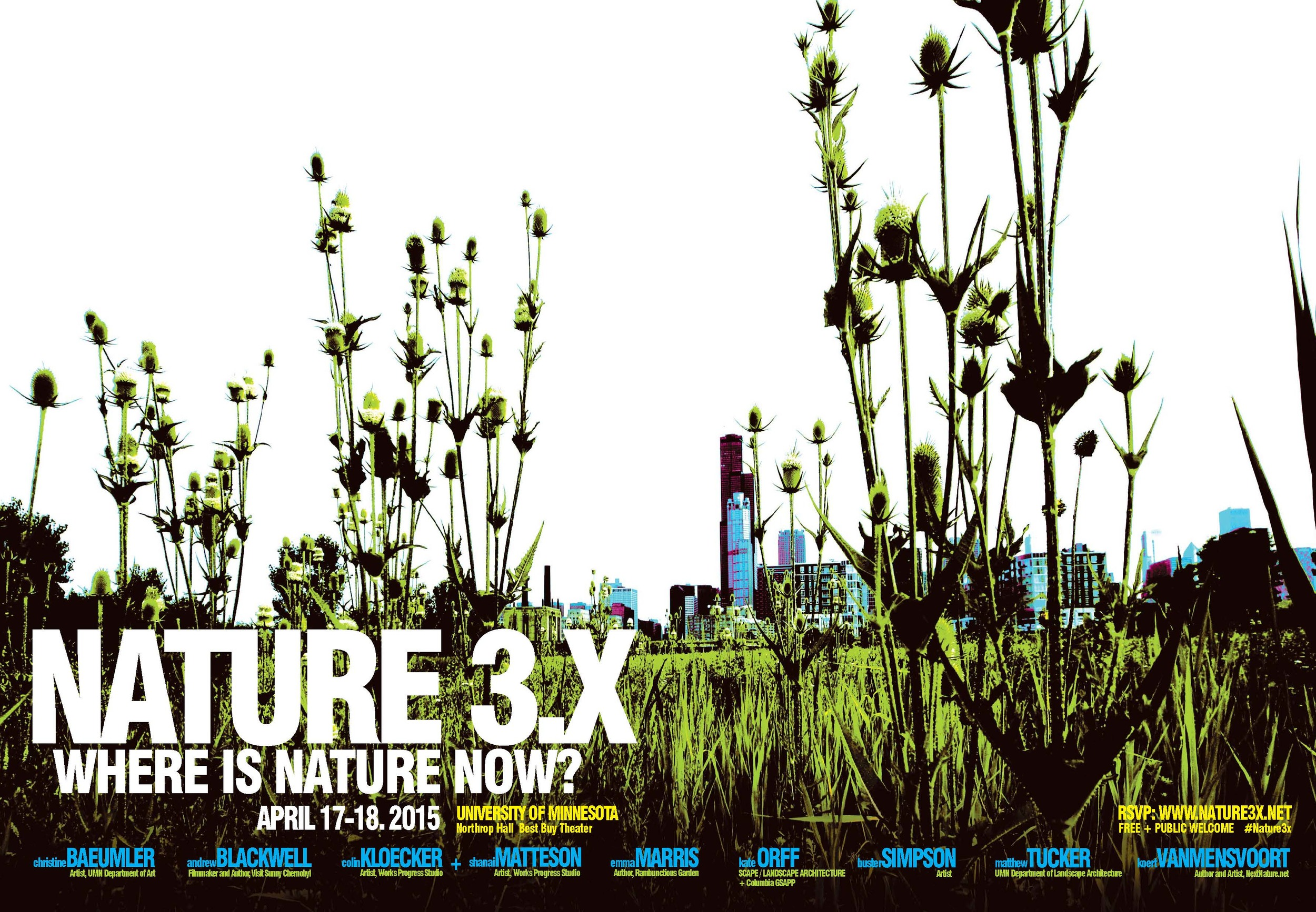 Nature 3.x poster