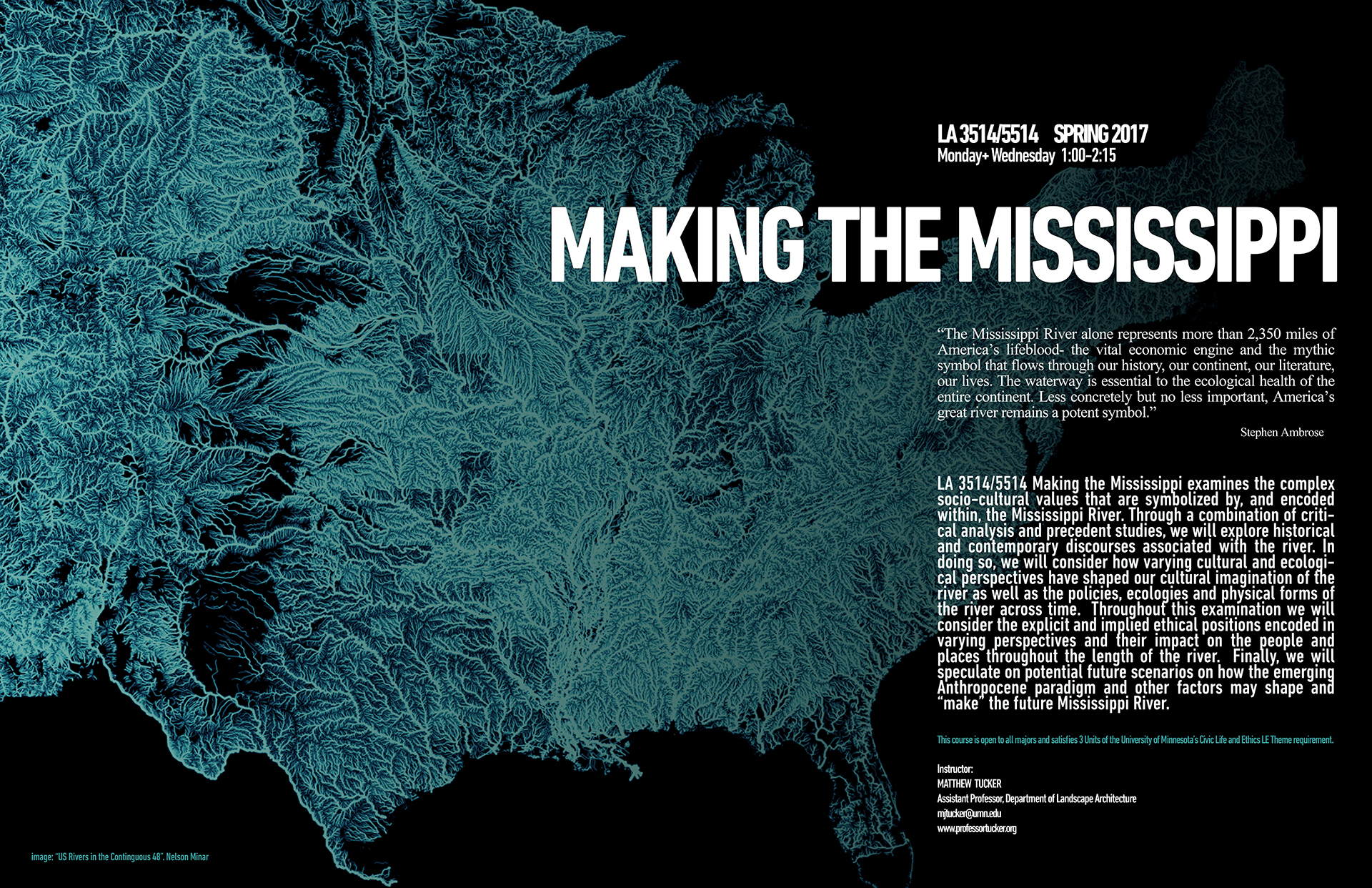 Making the Mississippi Course poster