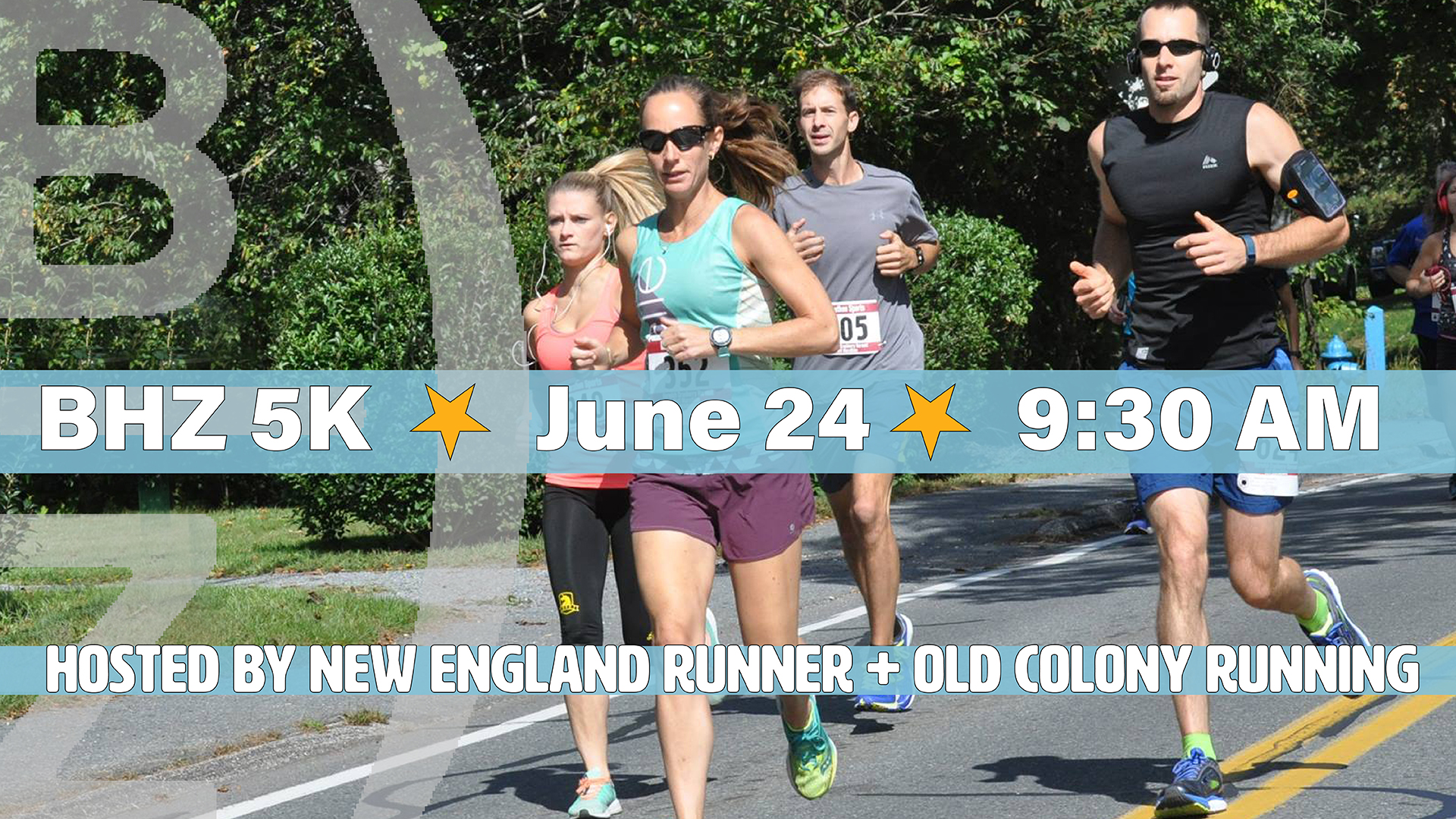 BHZ SUMMER 5K:SUNDAY 6/24 — 9:30AM START    A FUN RACE FOR THE ENTIRE FAMILY! HOPE YOU CAN JOIN US!   Get summer off to a great start!  register here: https://bhz5k.com/   The BHZ 5K features a fast, fairly flat course which starts and finishes at BHZ. It's an out and back route with a loop at the midpoint. The top three overall male/female will receive a custom BHZ tap handle trophy. Unique age group awards in seven different age divisions.  The post-race celebration includes complimentary (age 21+) BHZ craft beer plus bagels & fruit. T-shirts to the first 200 registrants.   LIVE MUSIC  The Joneses 10:30-12:30PM Brooke & Brian 1-3:00PM