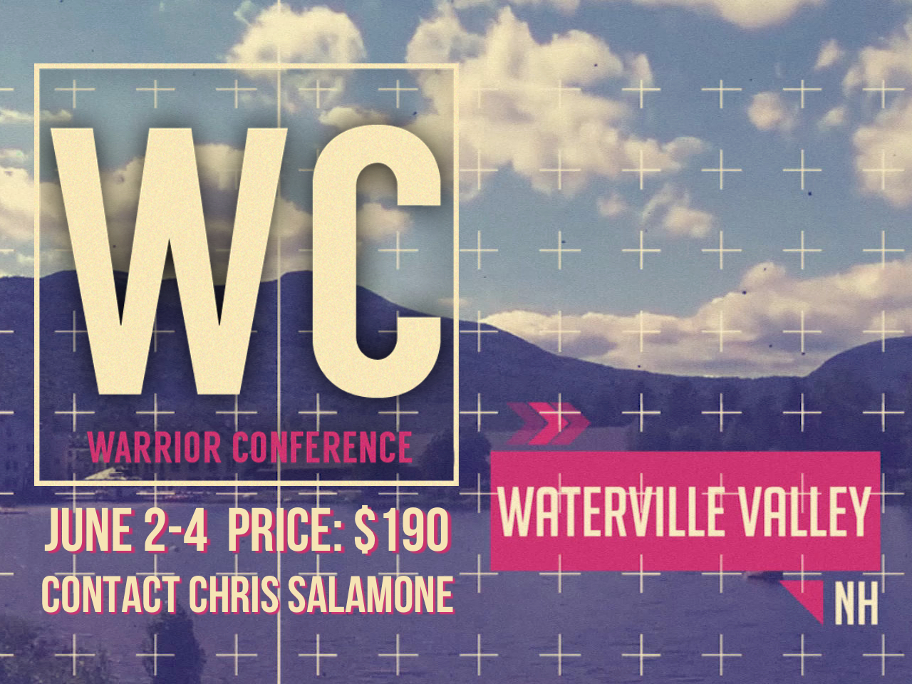 The men of BrookRidge are going to the Warrior Conference from June 2nd to June 4th in Waterville Valley, NH. It's a great time of fellowship, recreation, and encouraging teaching and worship with men from BrookRidge as well as other churches in the area. The fee for the retreat is $190. If you are interested in going, contact Chris Salamone at   chris.salamone@hotmail.com  or 781.589.0549.