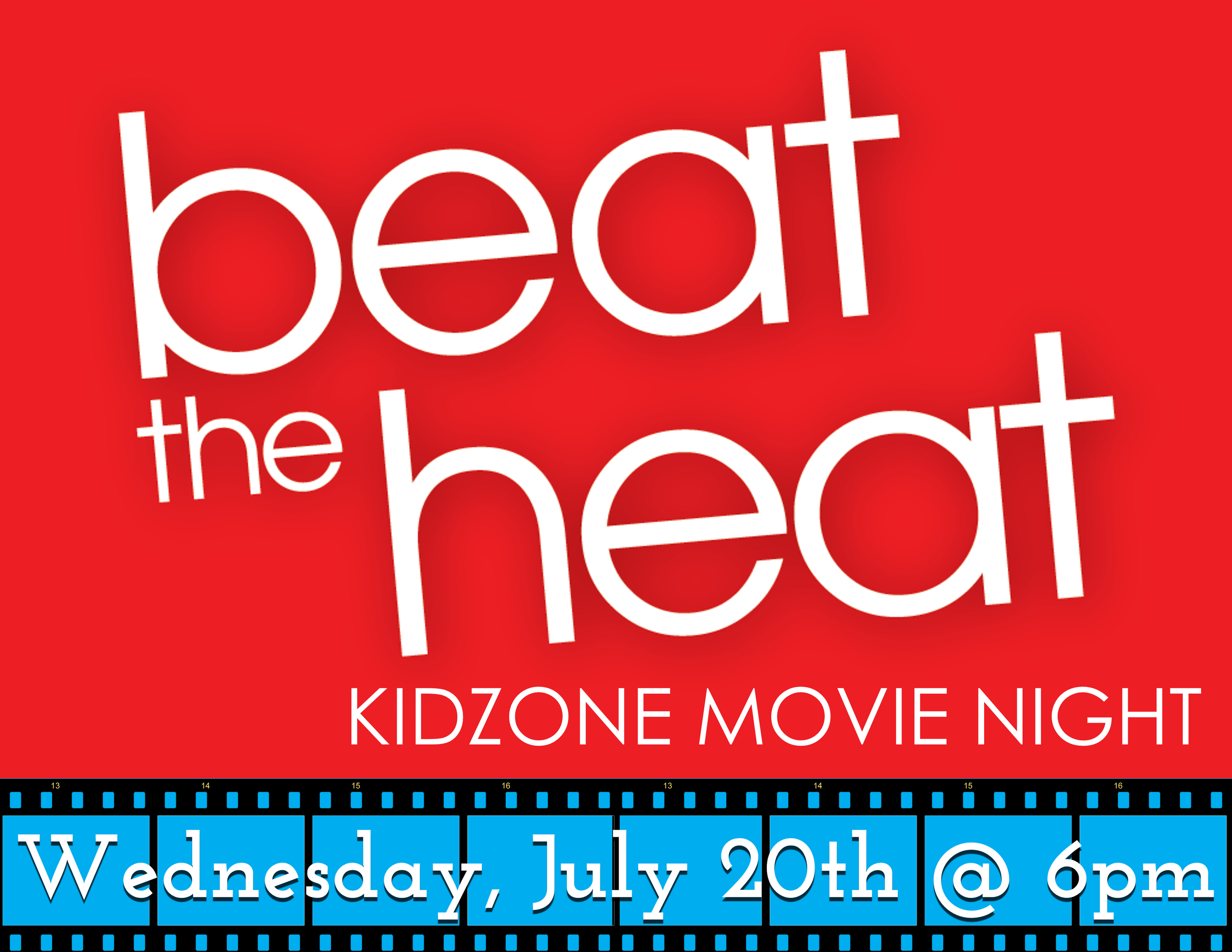 Bring the kids to BrookRidge for a night out to watch a movie with their friends and beat the summer heat :).Snacks will be provided.