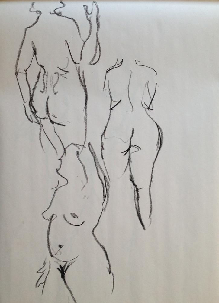 Life Drawing (Gesture)