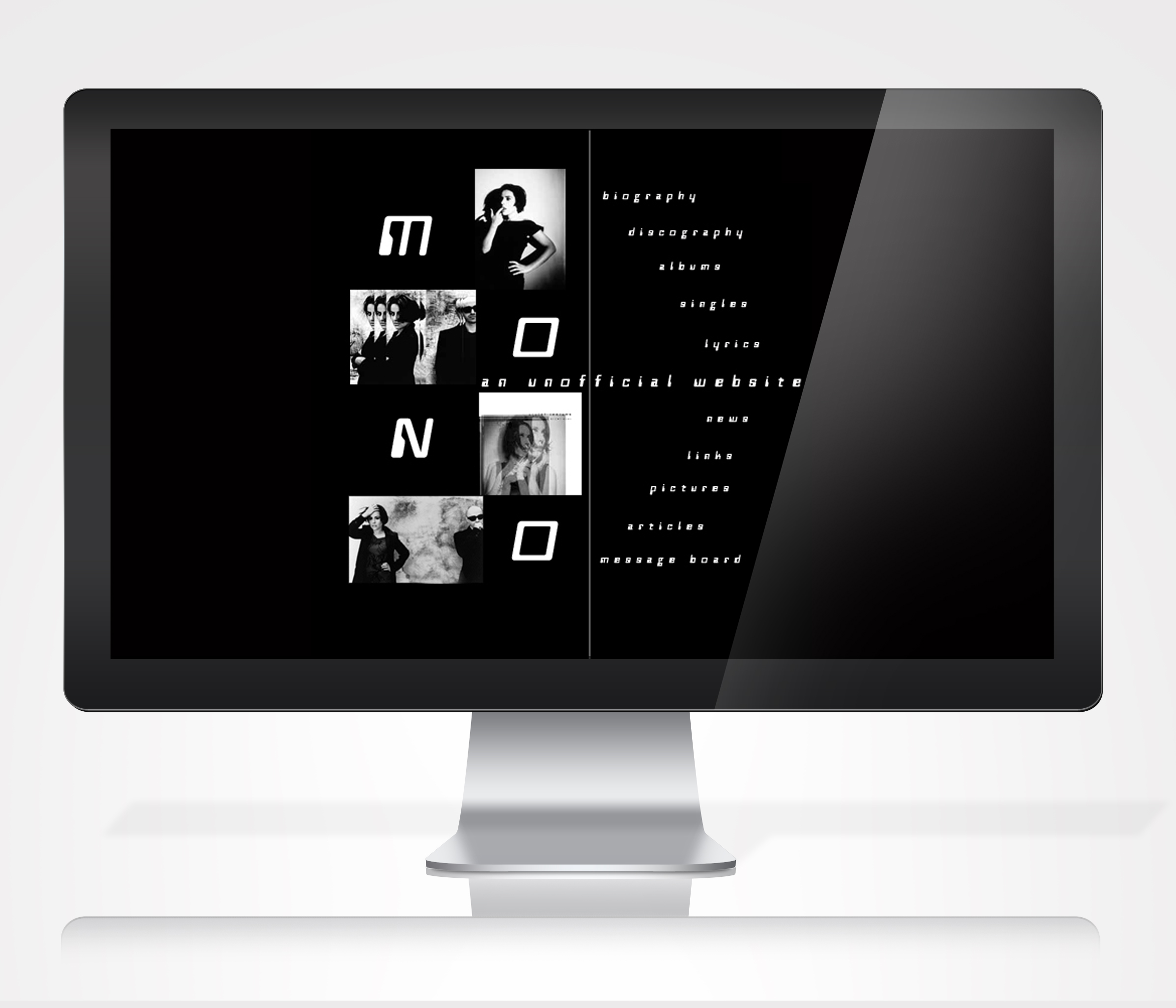 Mono Band Website