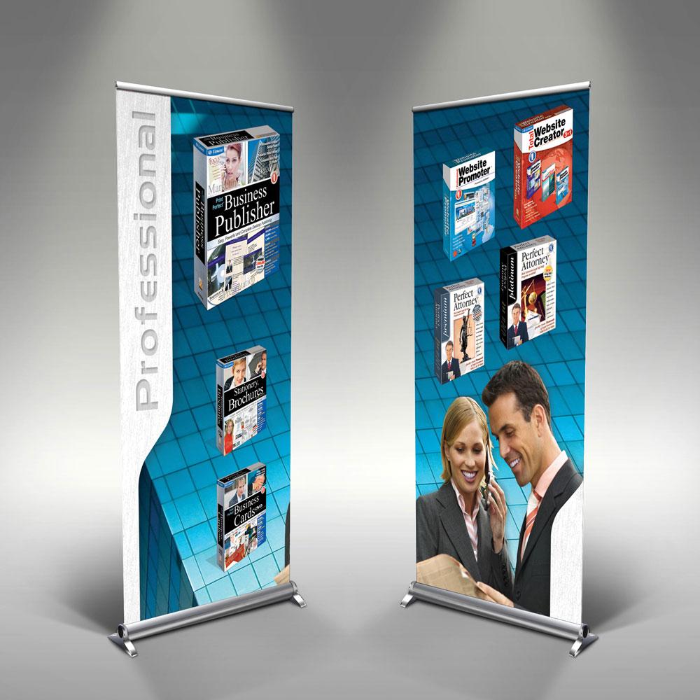 Cosmi Rollup Banner for E3 Tradeshow Kiosk