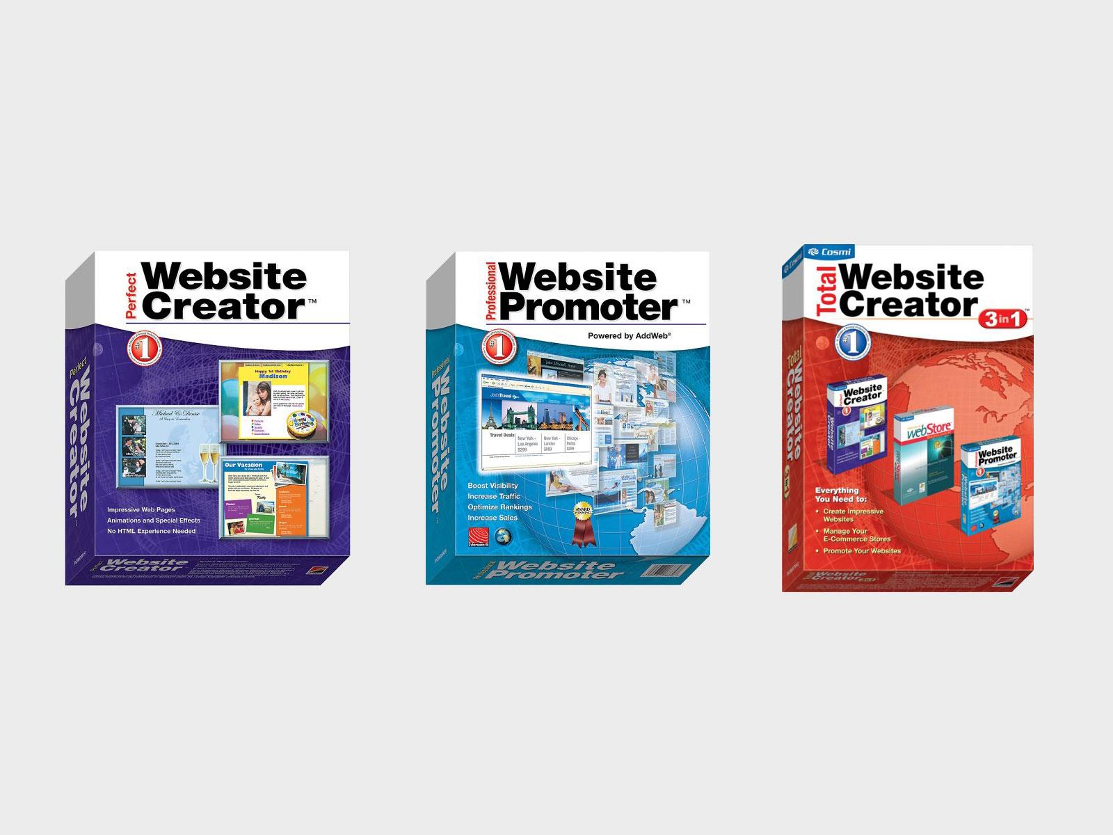 Software Packaging for Website Suite