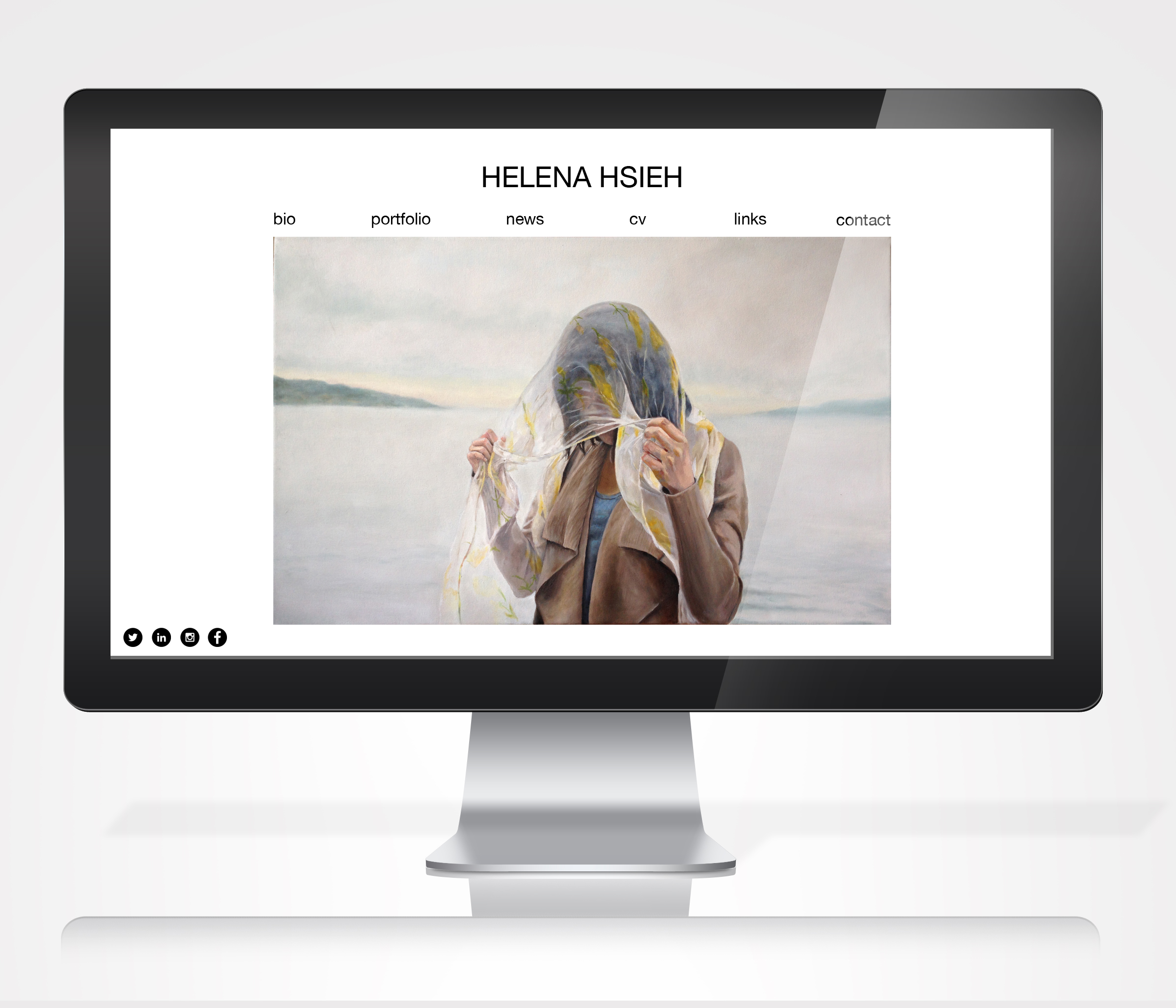 Artist Website Redesign