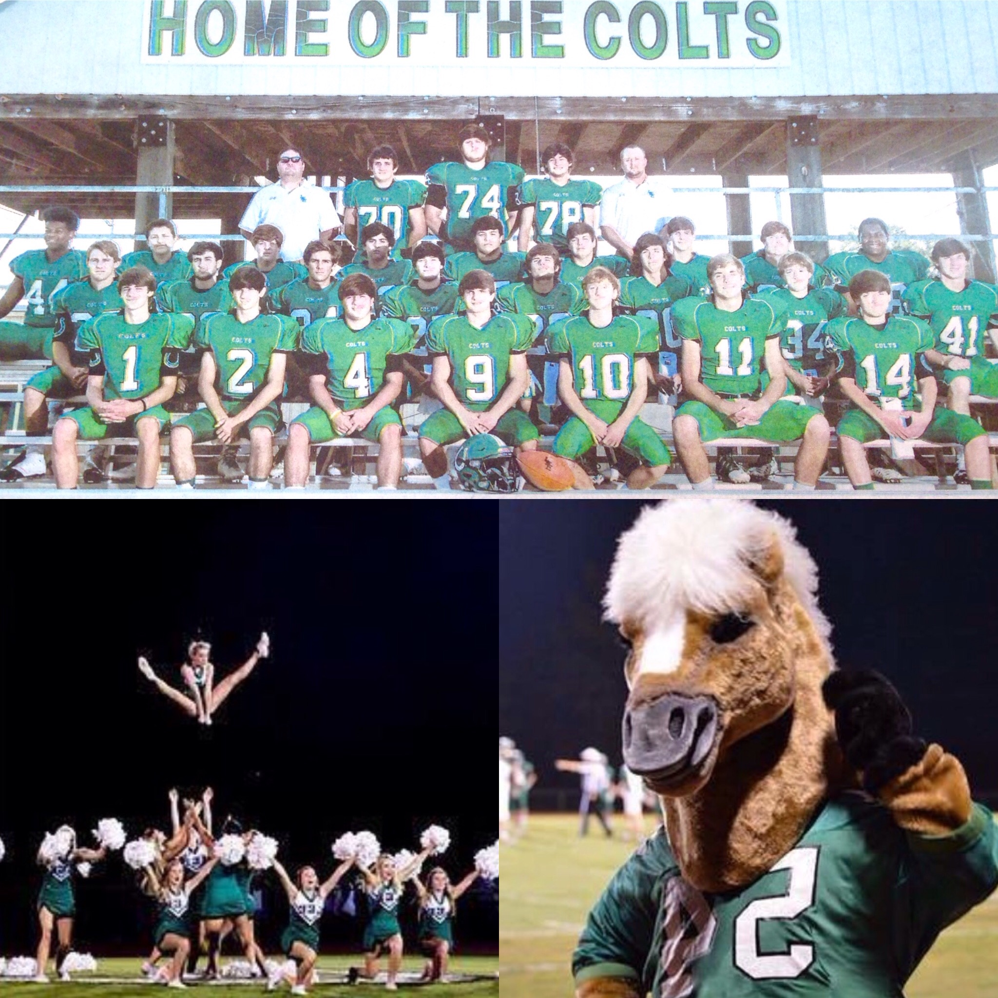 Come watch the LEE COLTS CLOBBER the Bayou Colts tonight!