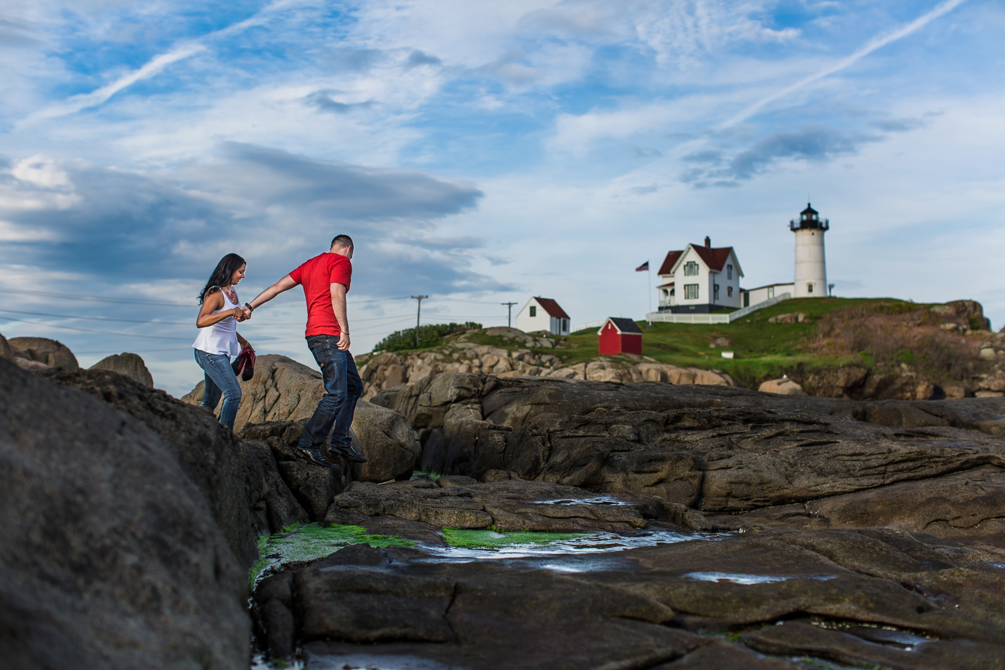 Nubble Light Engagement York Maine Chantal Mike-001.jpg