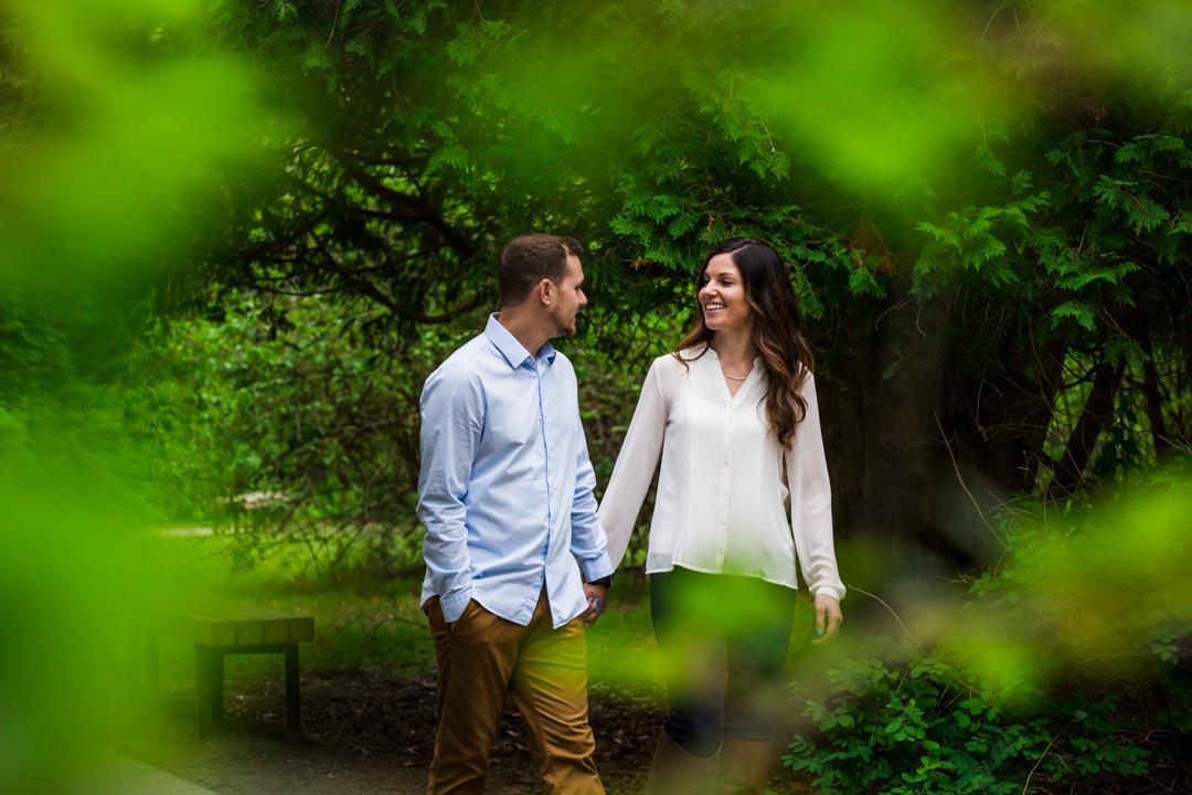 boston engagement couple