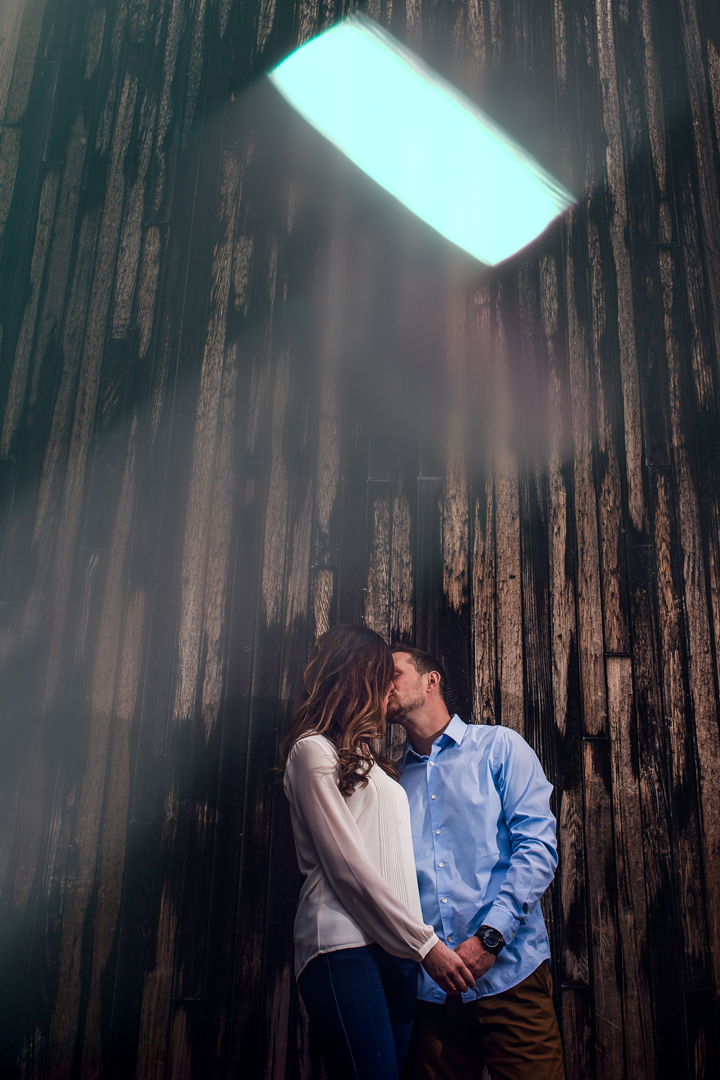 prism engagement photography