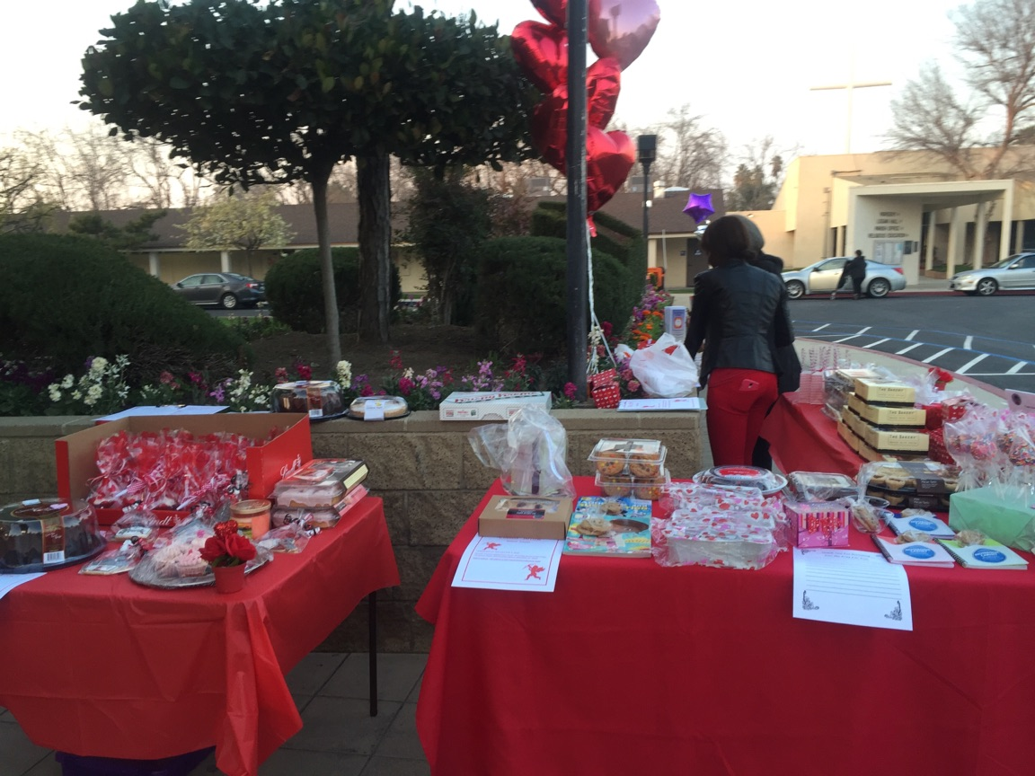 Cupid's Arrow Sweets & Treats yearly Fundraiser for the Students of St. Francis School in Khartoum, Sudan.