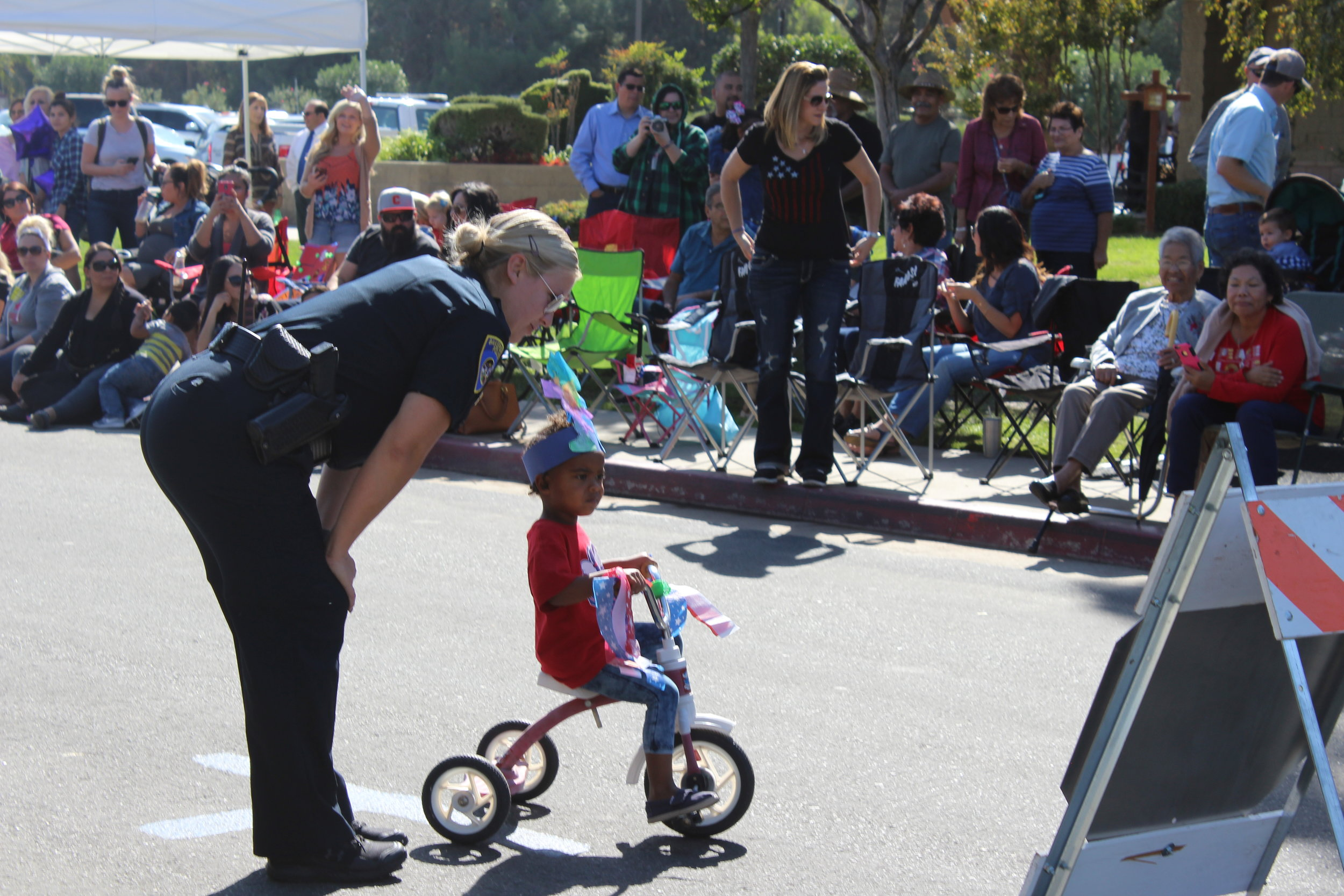 Bakersfield Police Department Safety Bike Rodeo and Patriotic Parade!