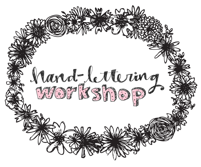 katie vaz lettering workshop