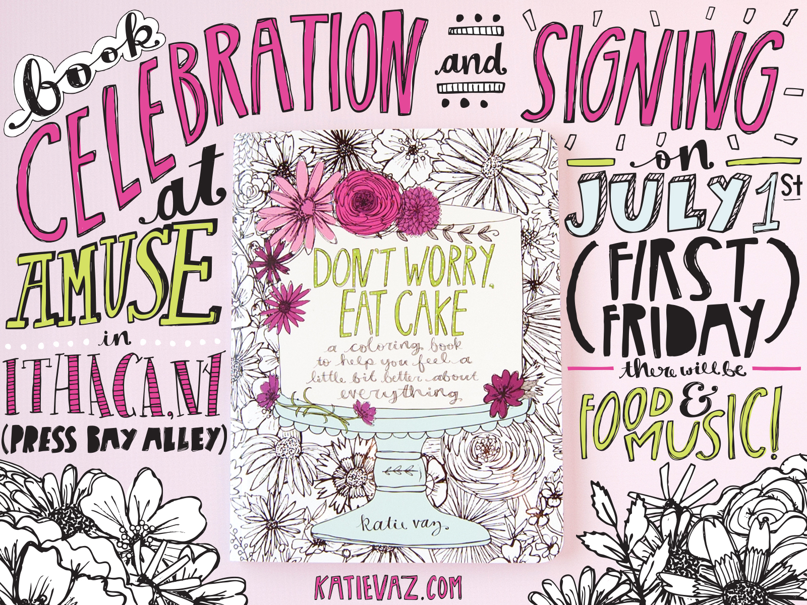 Don't Worry, Eat Cake | Ithaca Signing