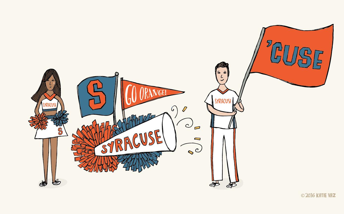 Syracuse Cheerleading | Katie Vaz