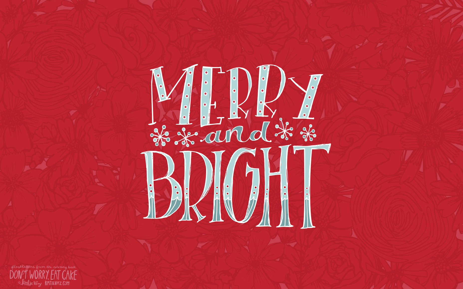 Merry and Bright Desktop wallpaper