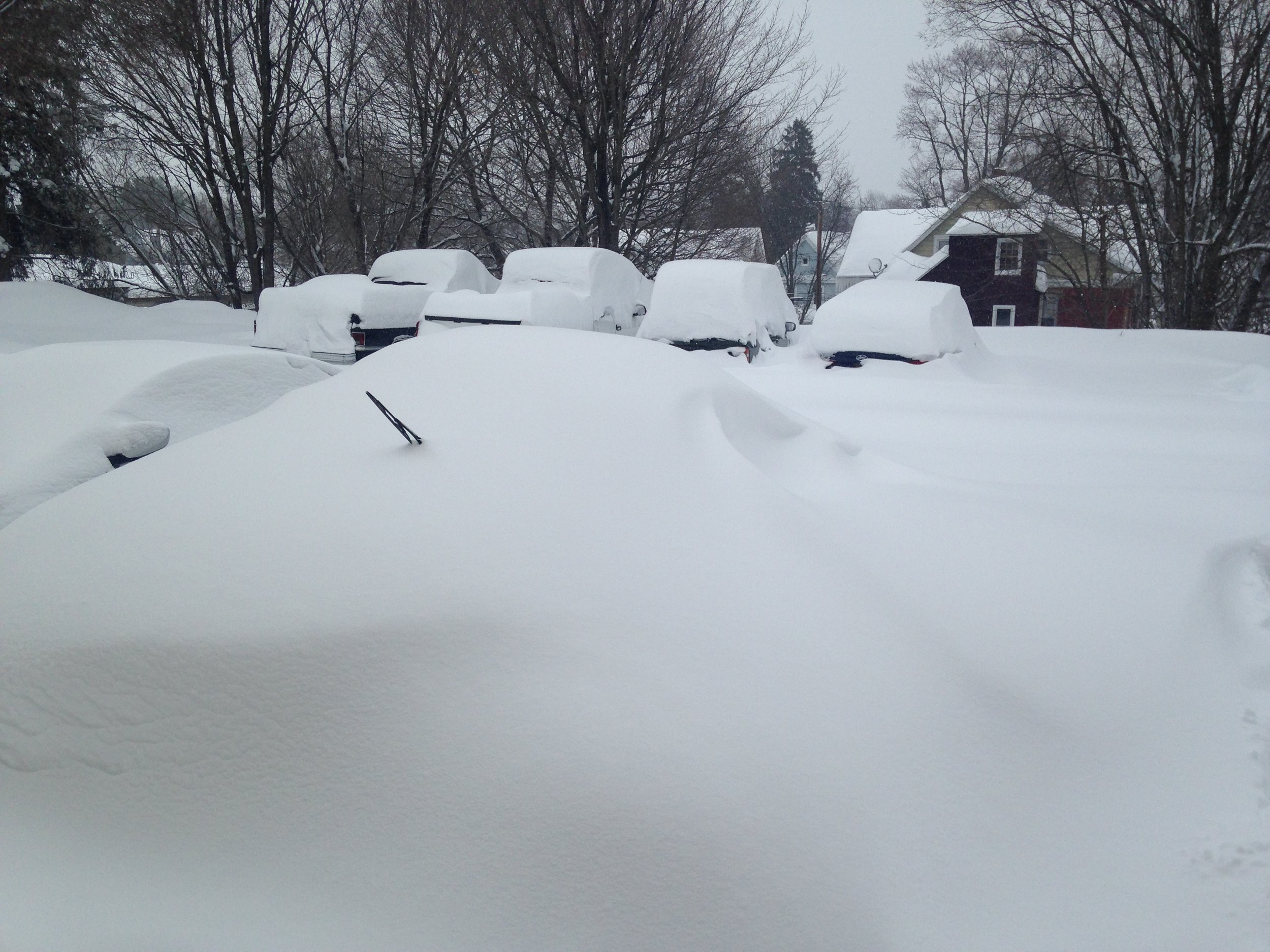 Somewhere out there is my car!