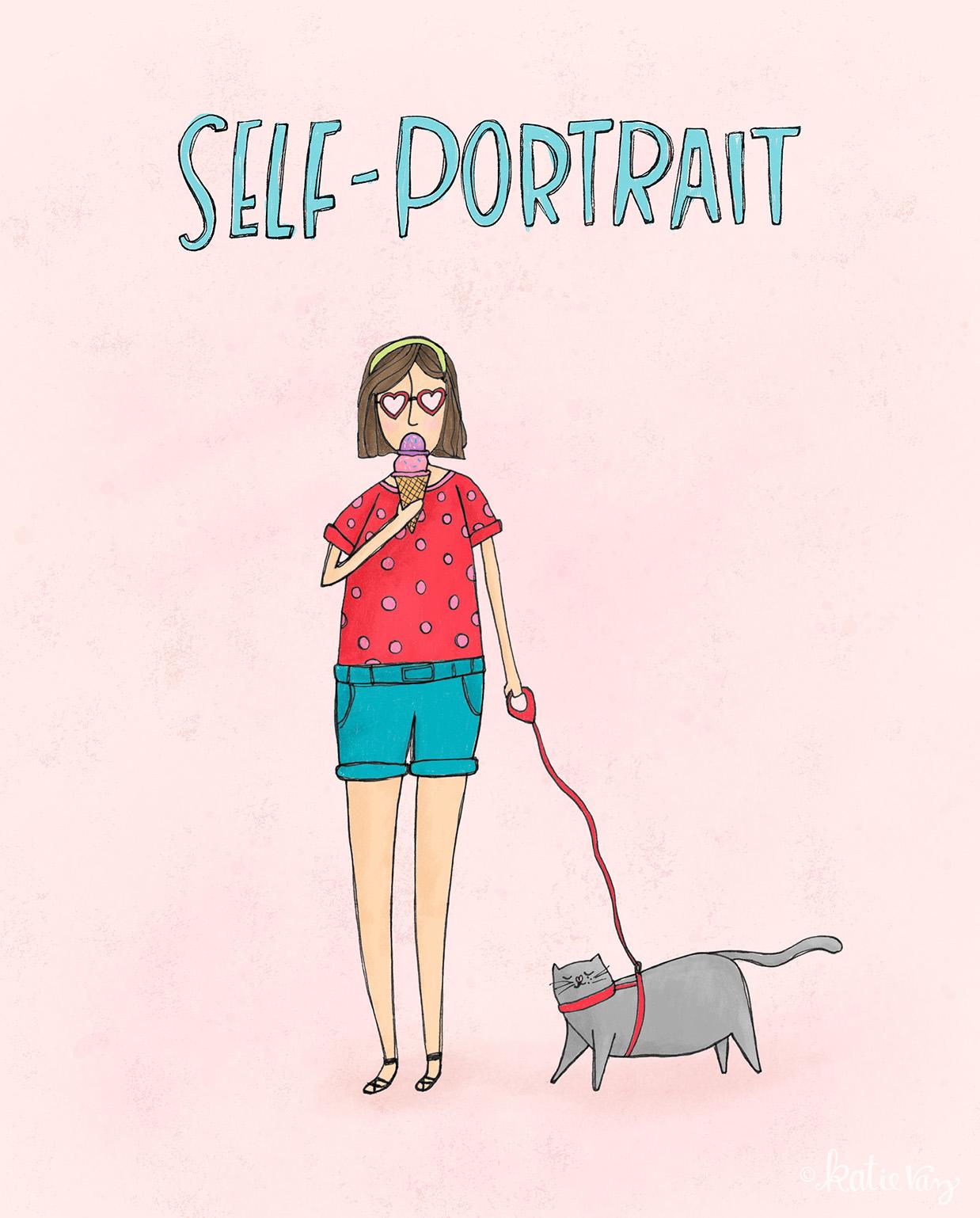 An ideal self-portrait