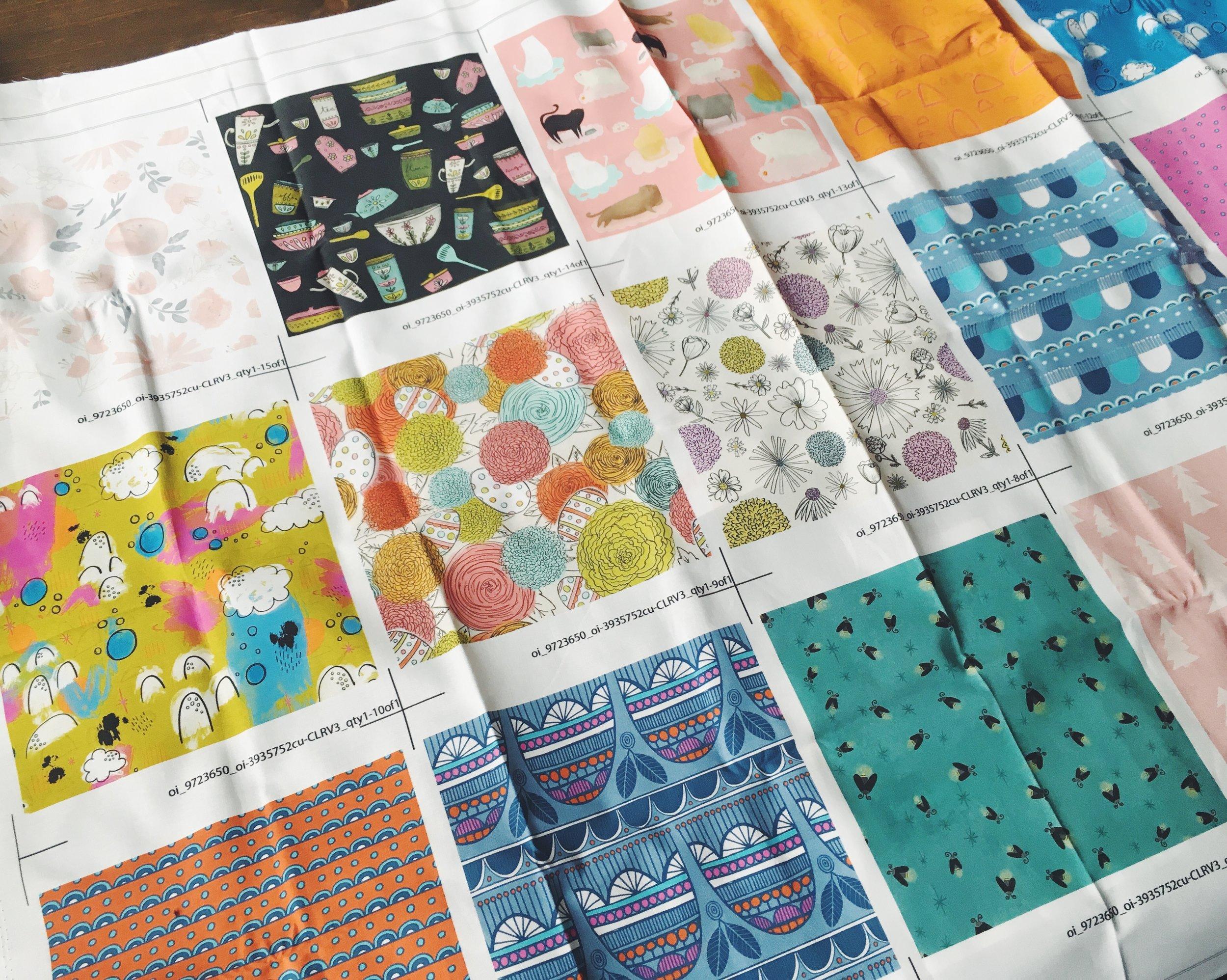 Fabric Design   Katie Vaz Illustration