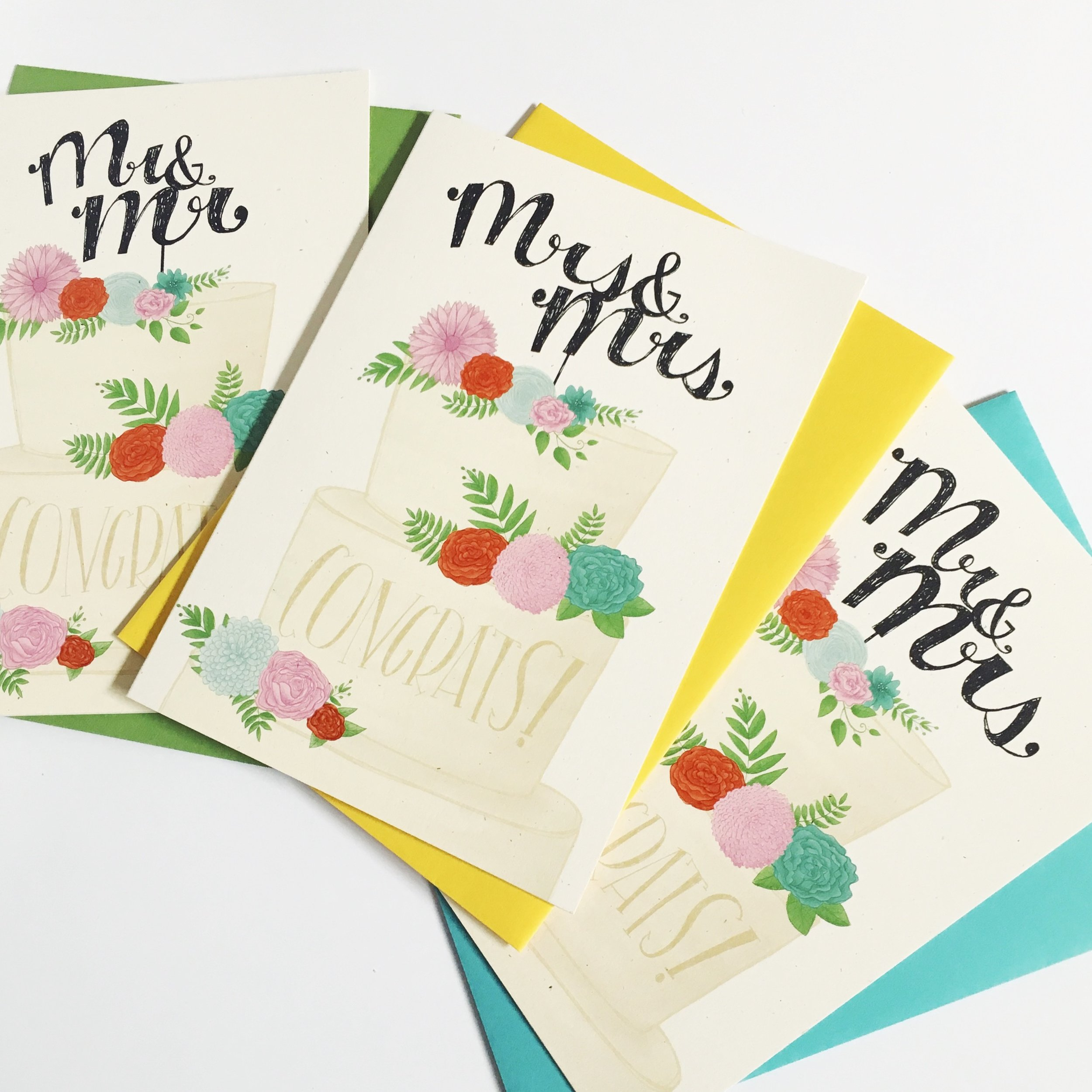 Wedding Cards | Stationery | Illustration | Katie Vaz