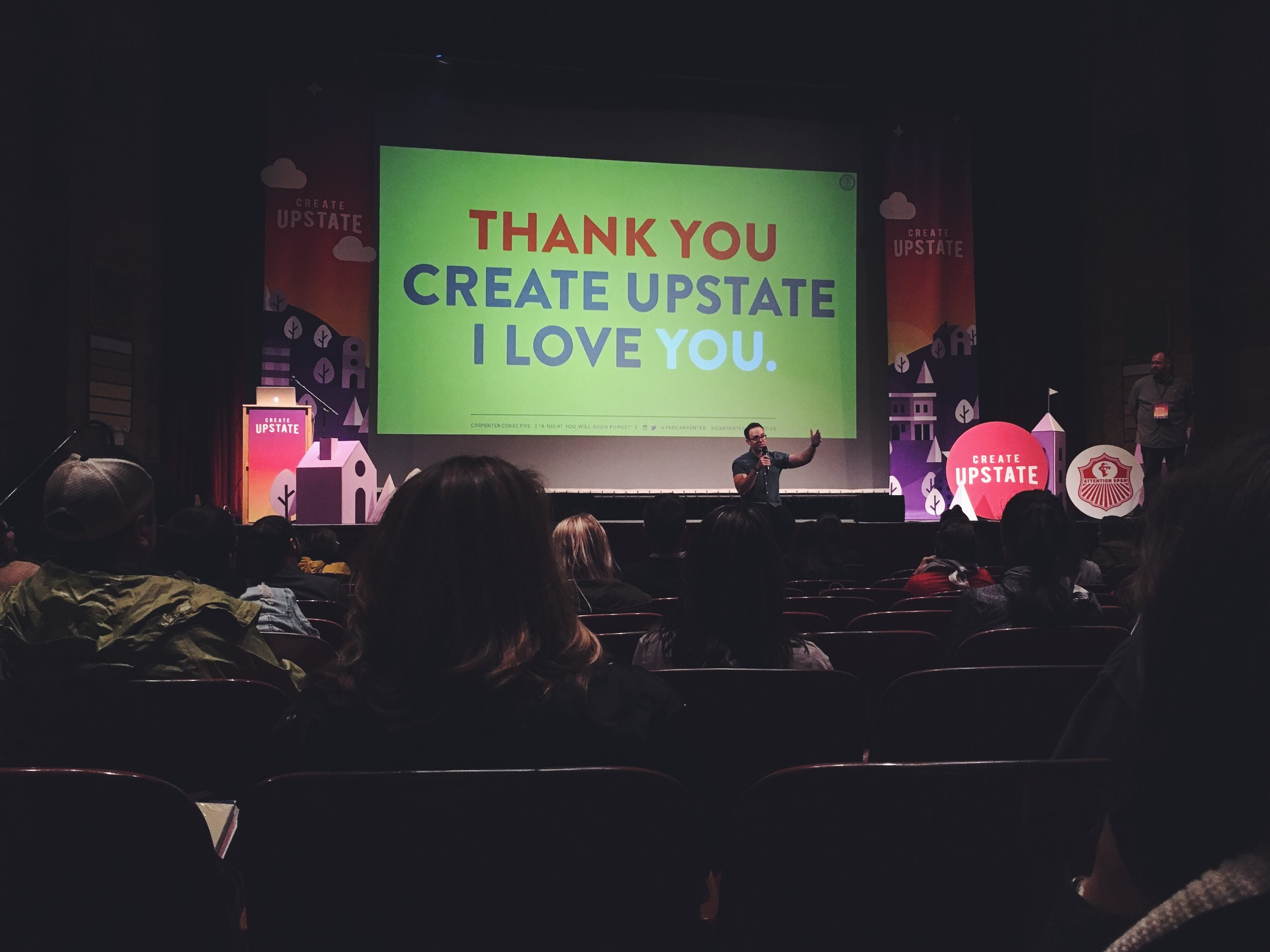 Tad Carpenter | Create Upstate Conference