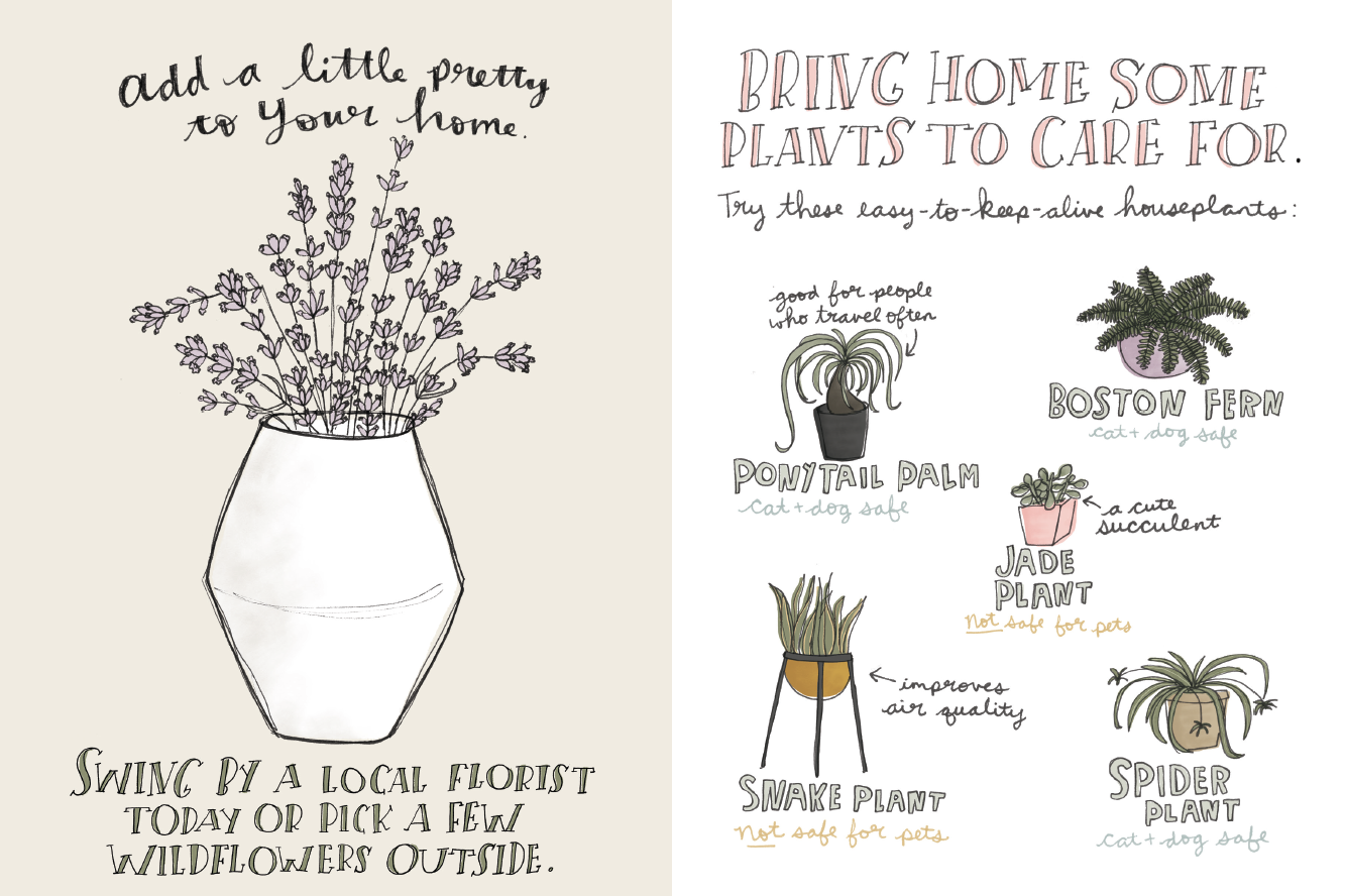 Self-Care | Katie Vaz | Illustrator