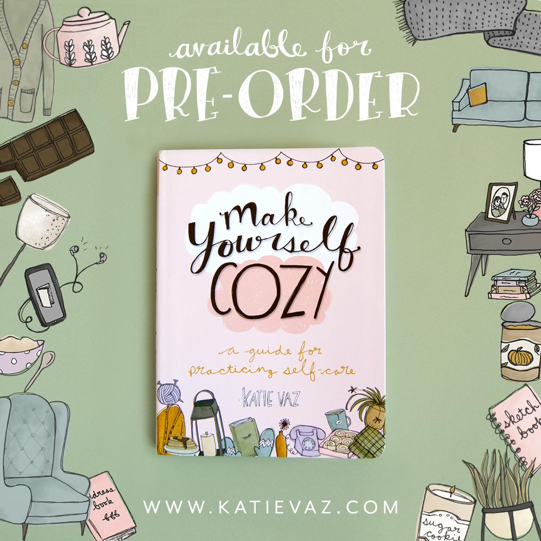 Make Yourself Cozy   self-care book