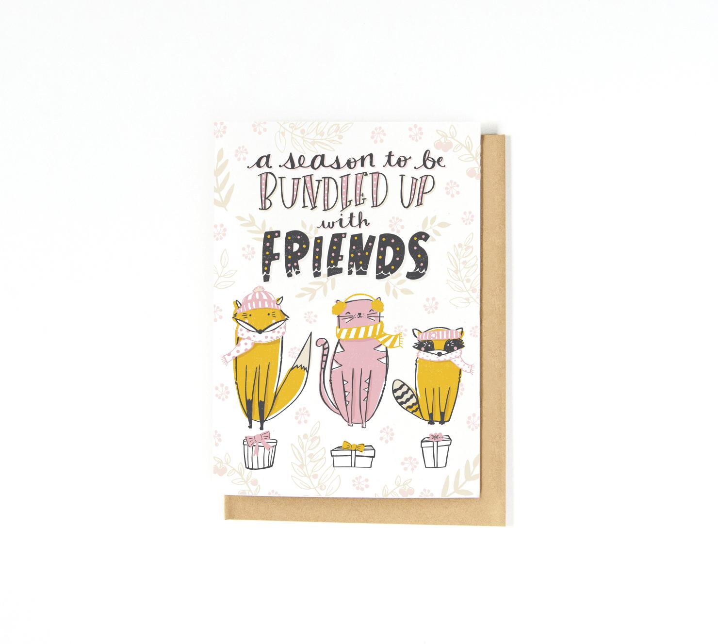 Holiday Card | Katie Vaz Design