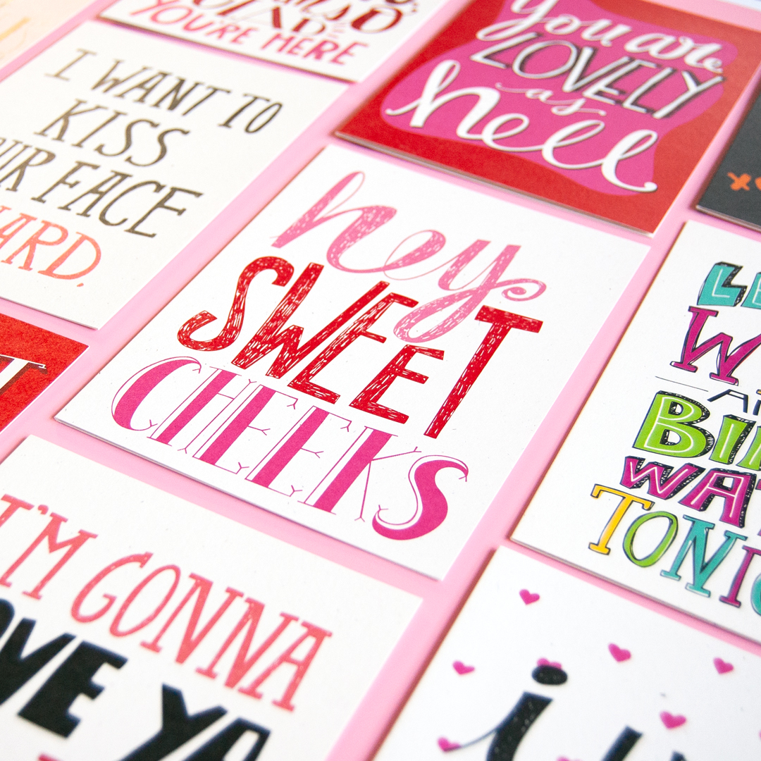 Valentine's Day Cards | Katie Vaz Design