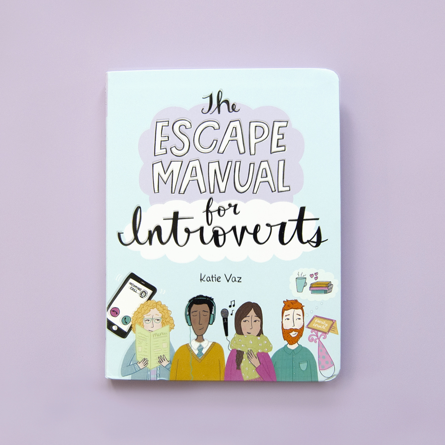 Introvert Book  | Katie Vaz