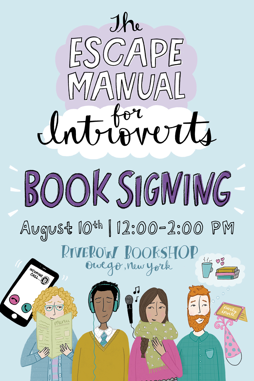 Book Signing at Riverow Bookshop | Katie Vaz