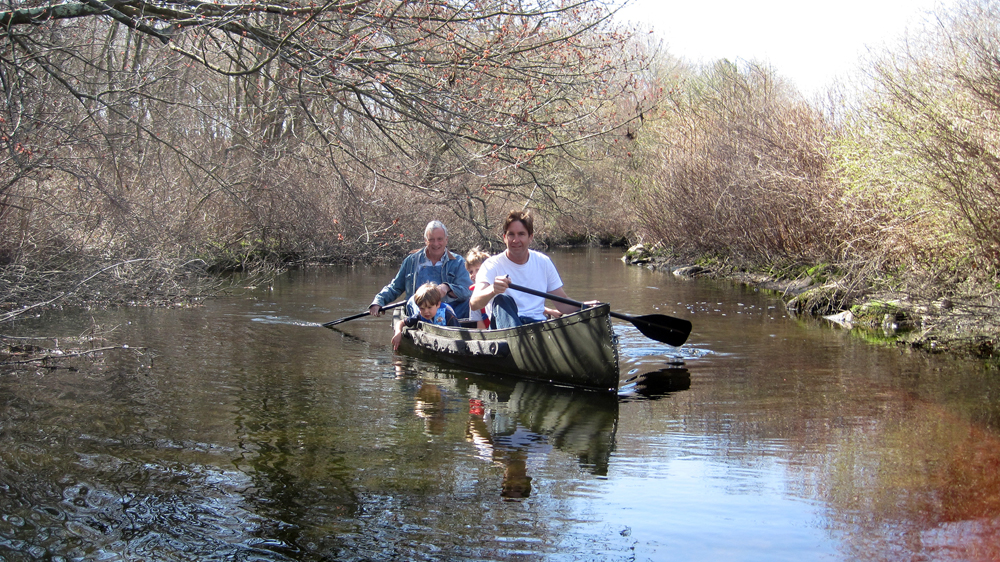 Canoeing down Beaver Dam Brook | Will we be able to canoe through the restored wetlands?