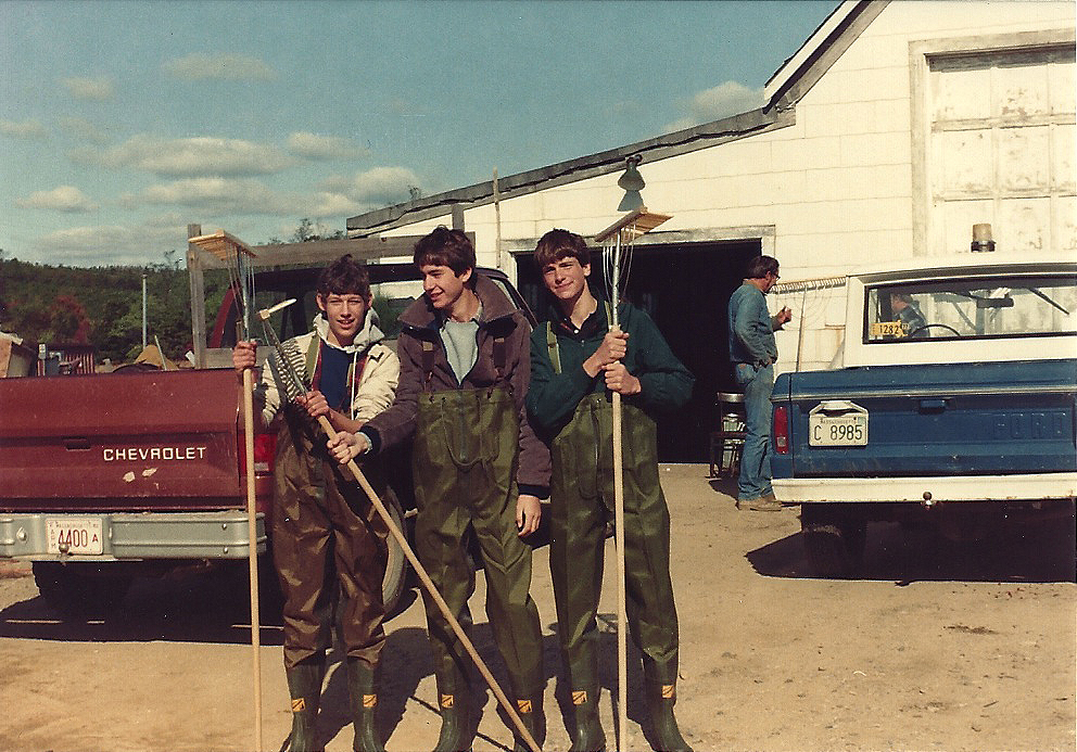 1983 | October is Harvest Time | Eric and his pals suit up for Harvest on T1