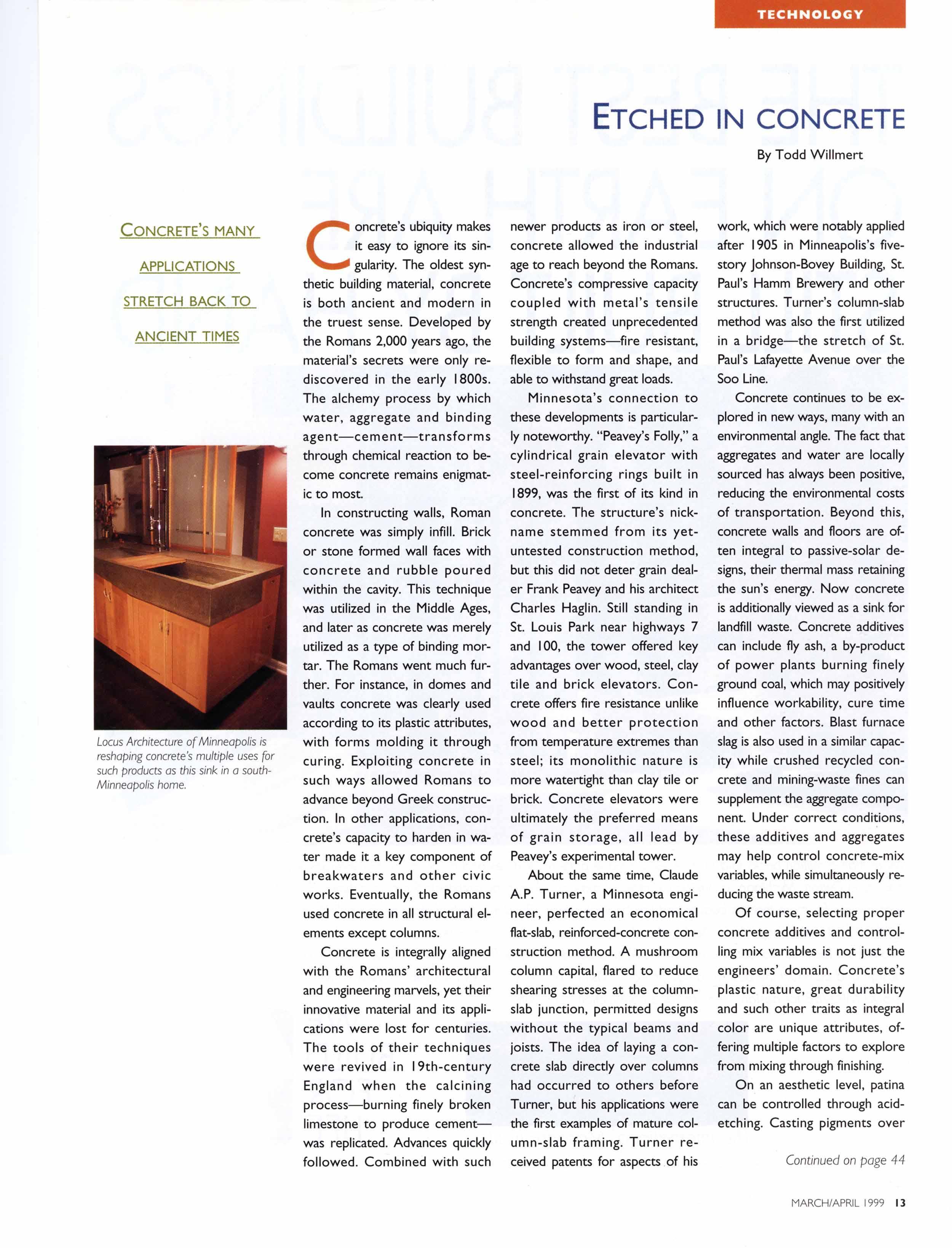 Architecture MN, March/Apr 1999