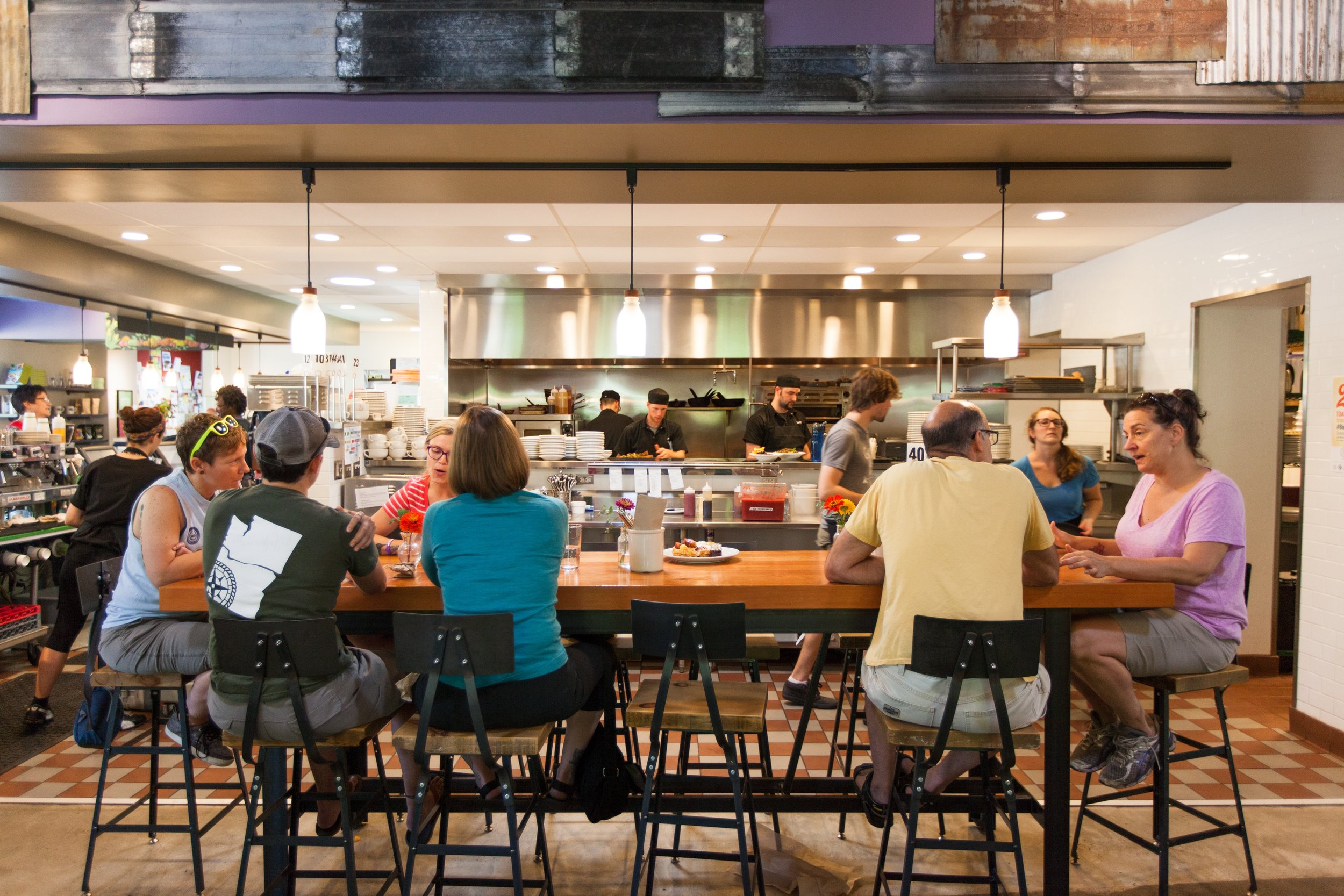 EAT - we design spaces for the community to gather over good eats