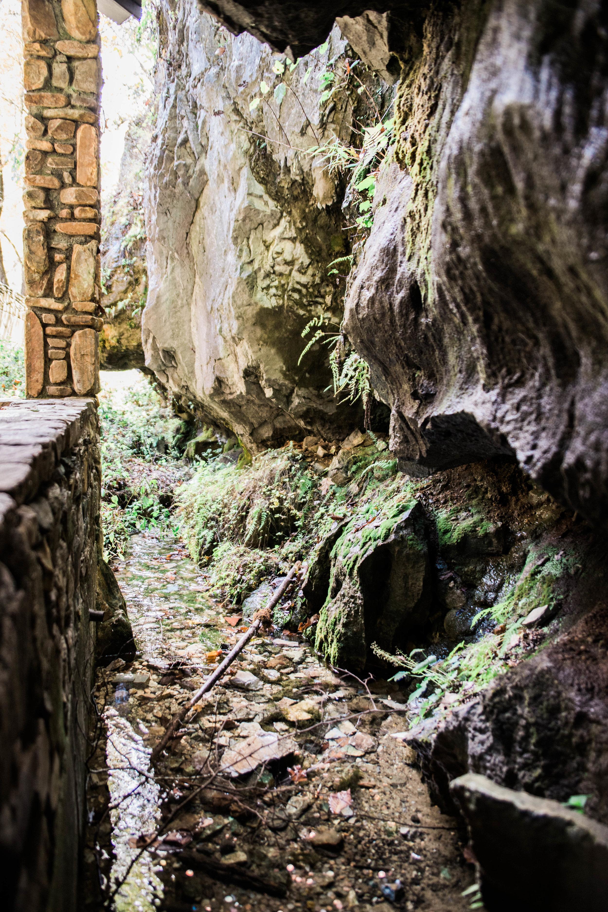 Linville Cavern.