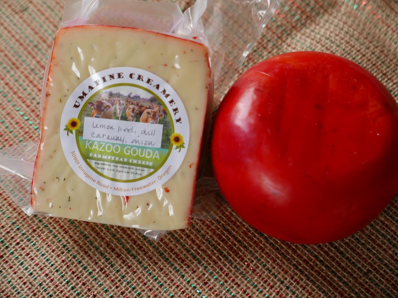 Lemon Peal, Dill, Caraway Cheese