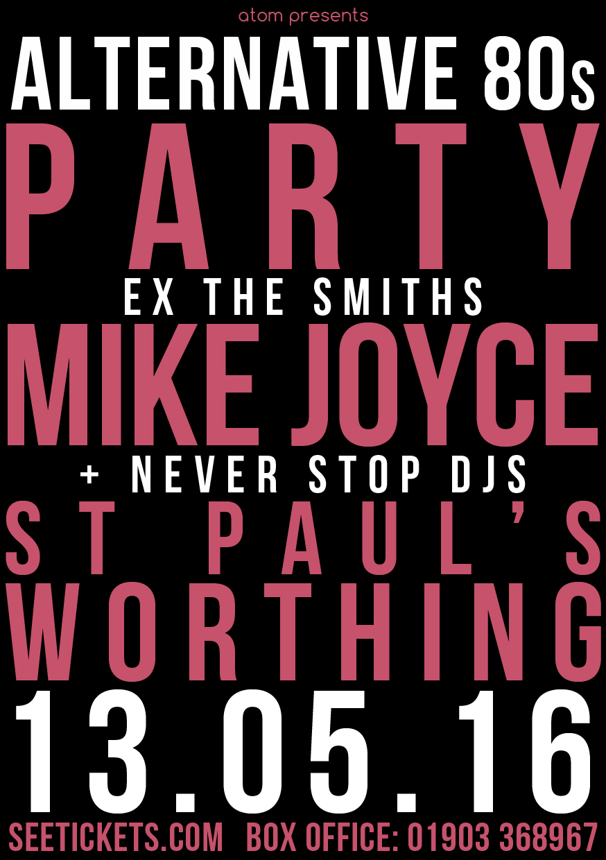 Mike Joyce 80s Party