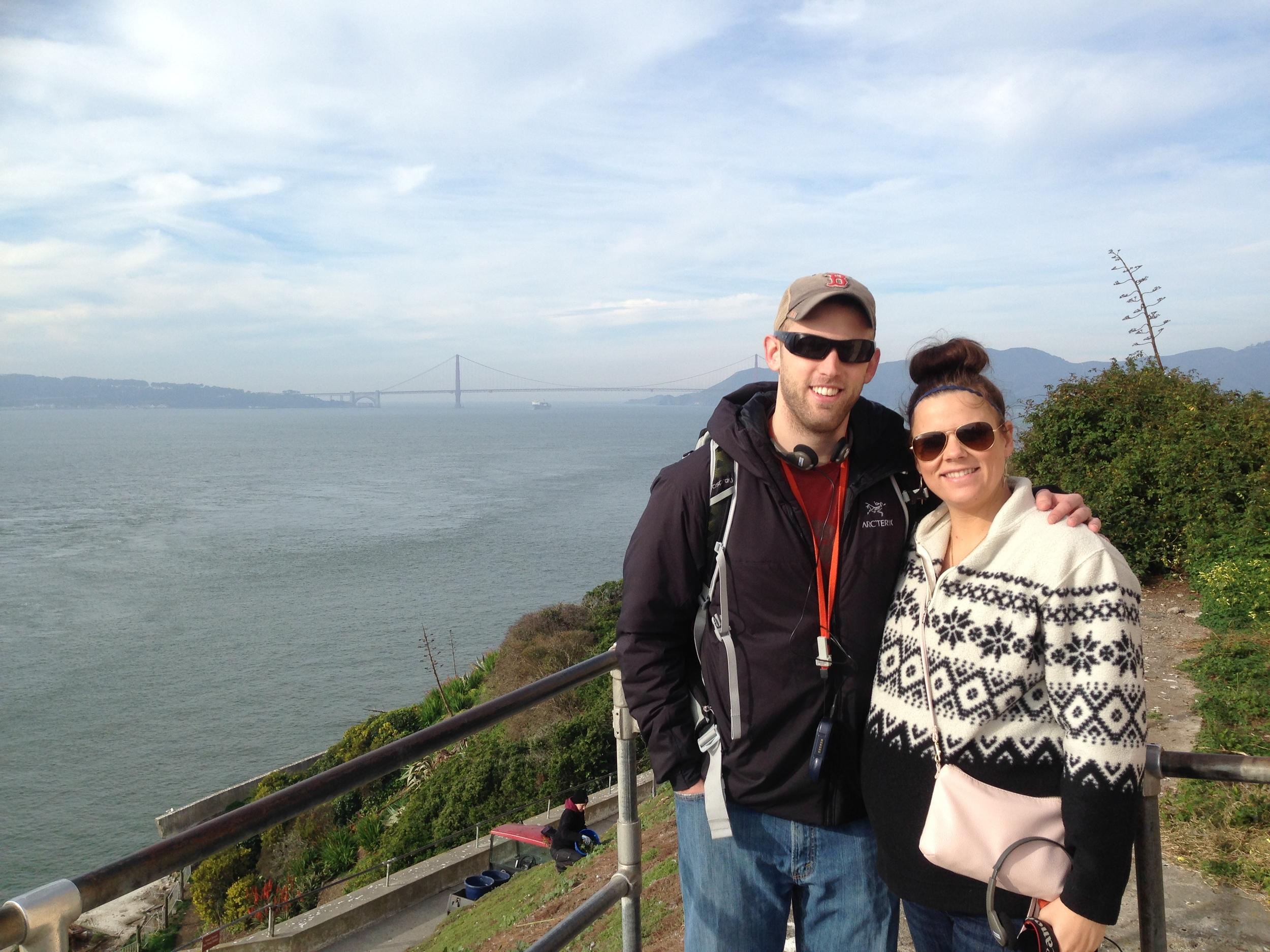 28 Weeks Pregnant at Alcatraz