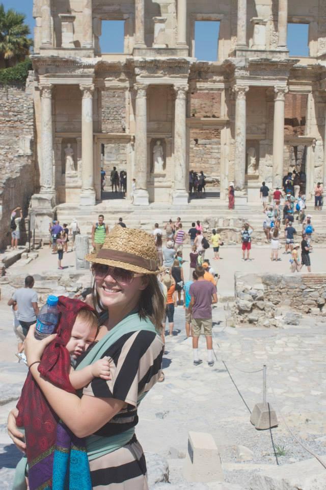 Jenny + her daughter in Turkey