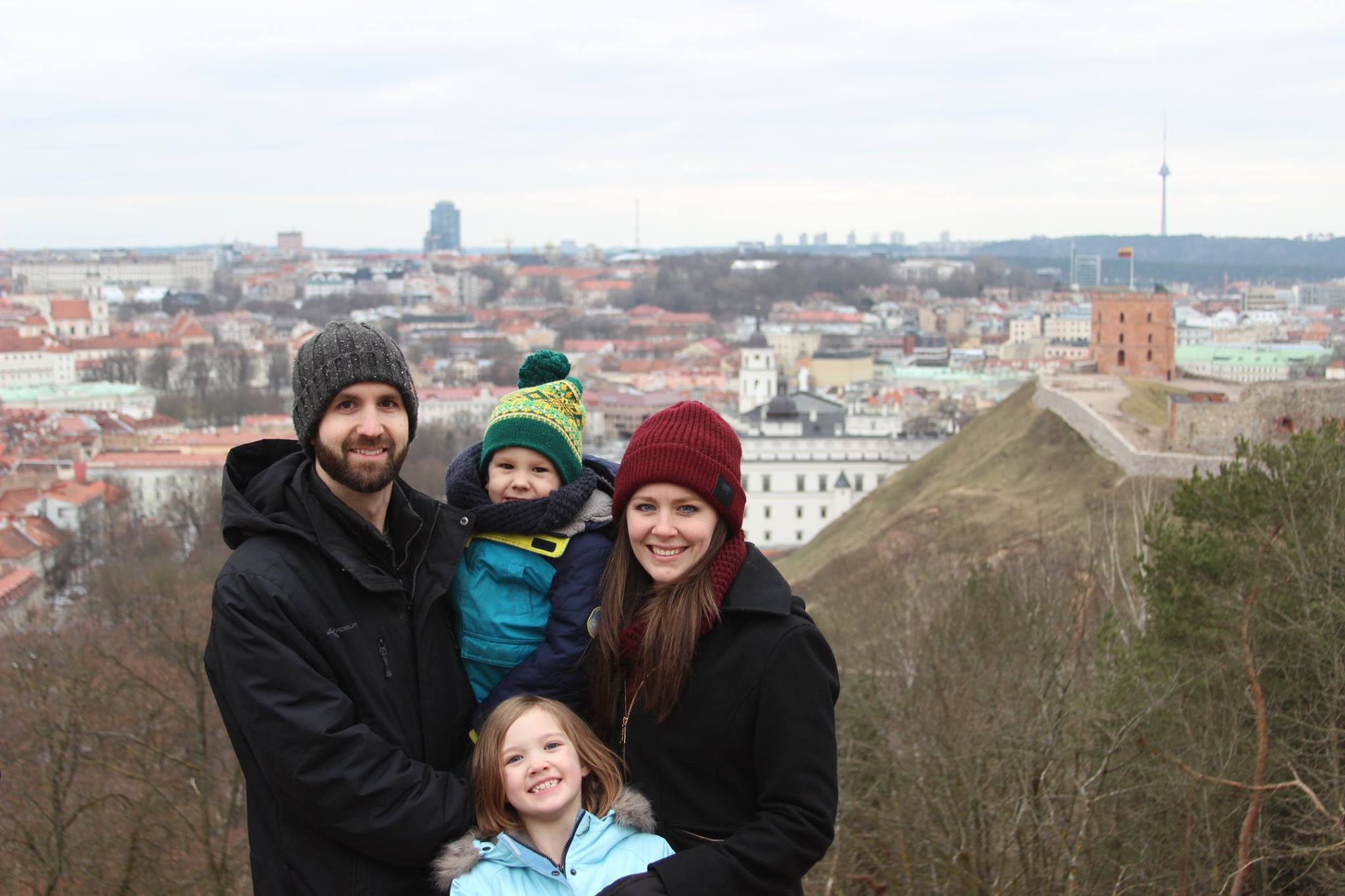 The Elliff Family in Lithuania