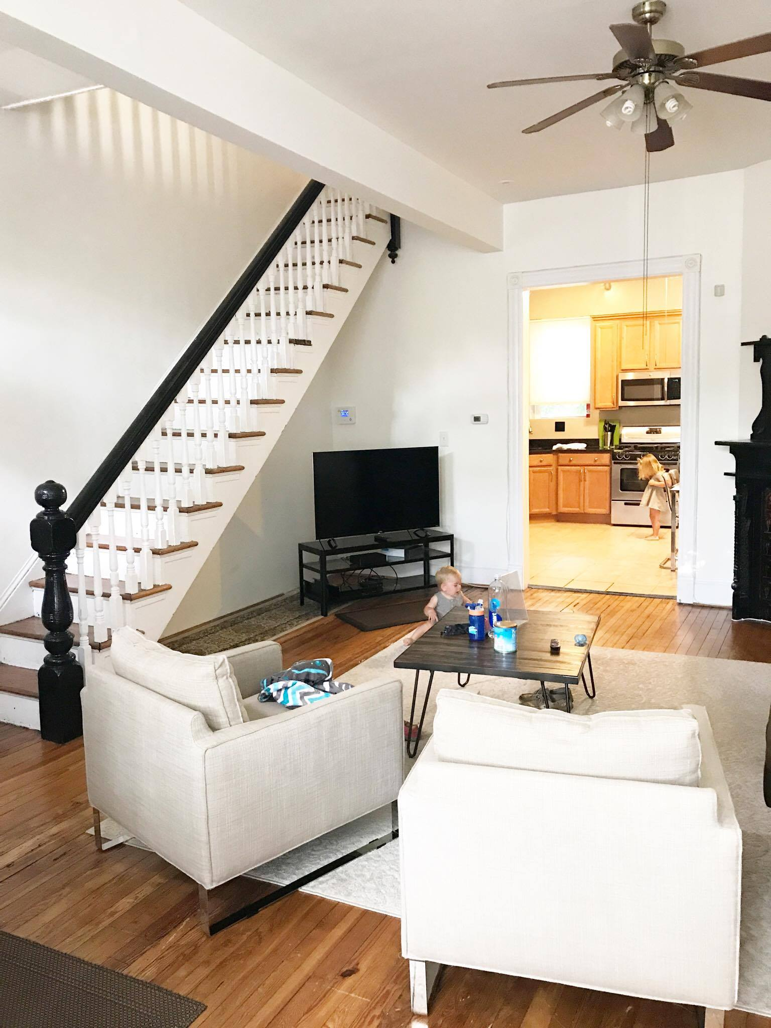 an airbnb in washington dc - 2 bedrooms, full kitchen for only $150 per night