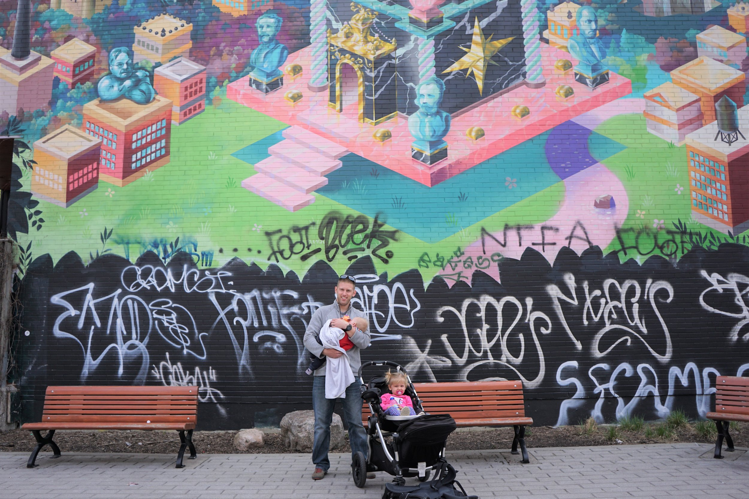 Montreal has More street Art than any other city we've visted